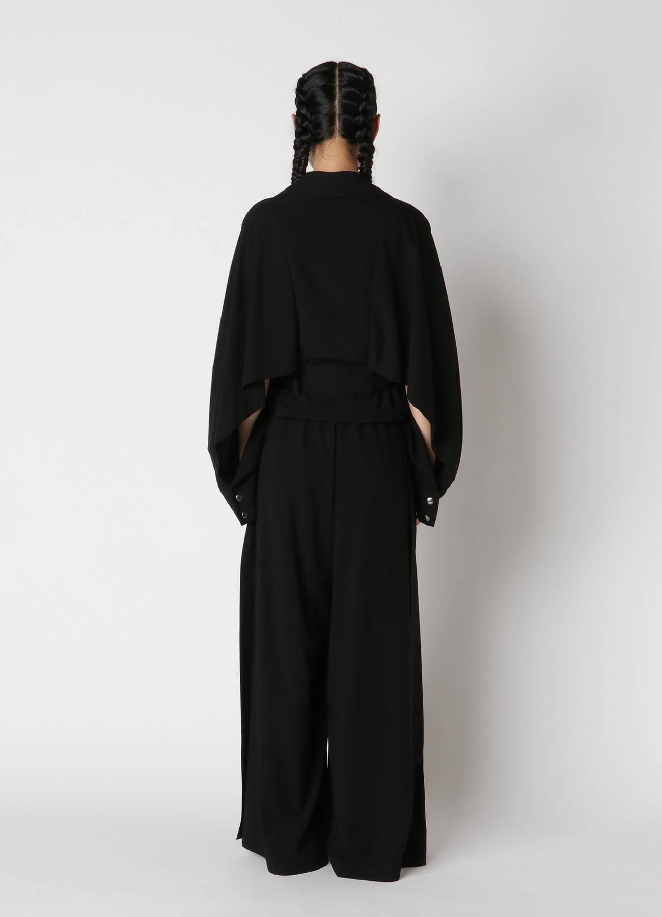 Rayon Cloth Cape Sleeve Jacket