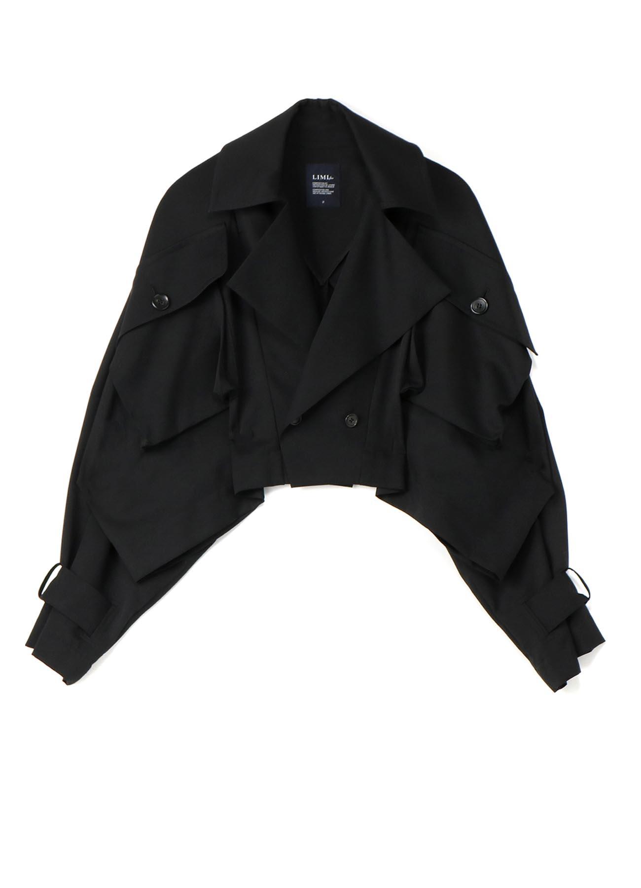 W/Gabardine Square Big Pocket jacket