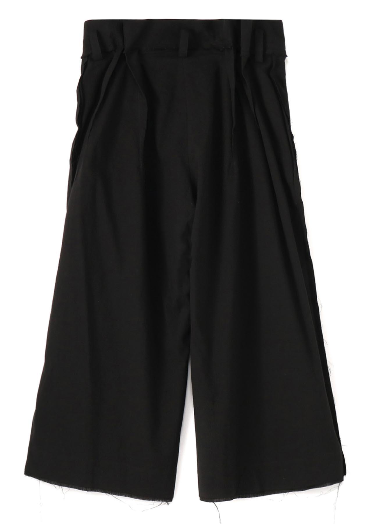 C/Li Calico A Belt Tuck Wide Pants