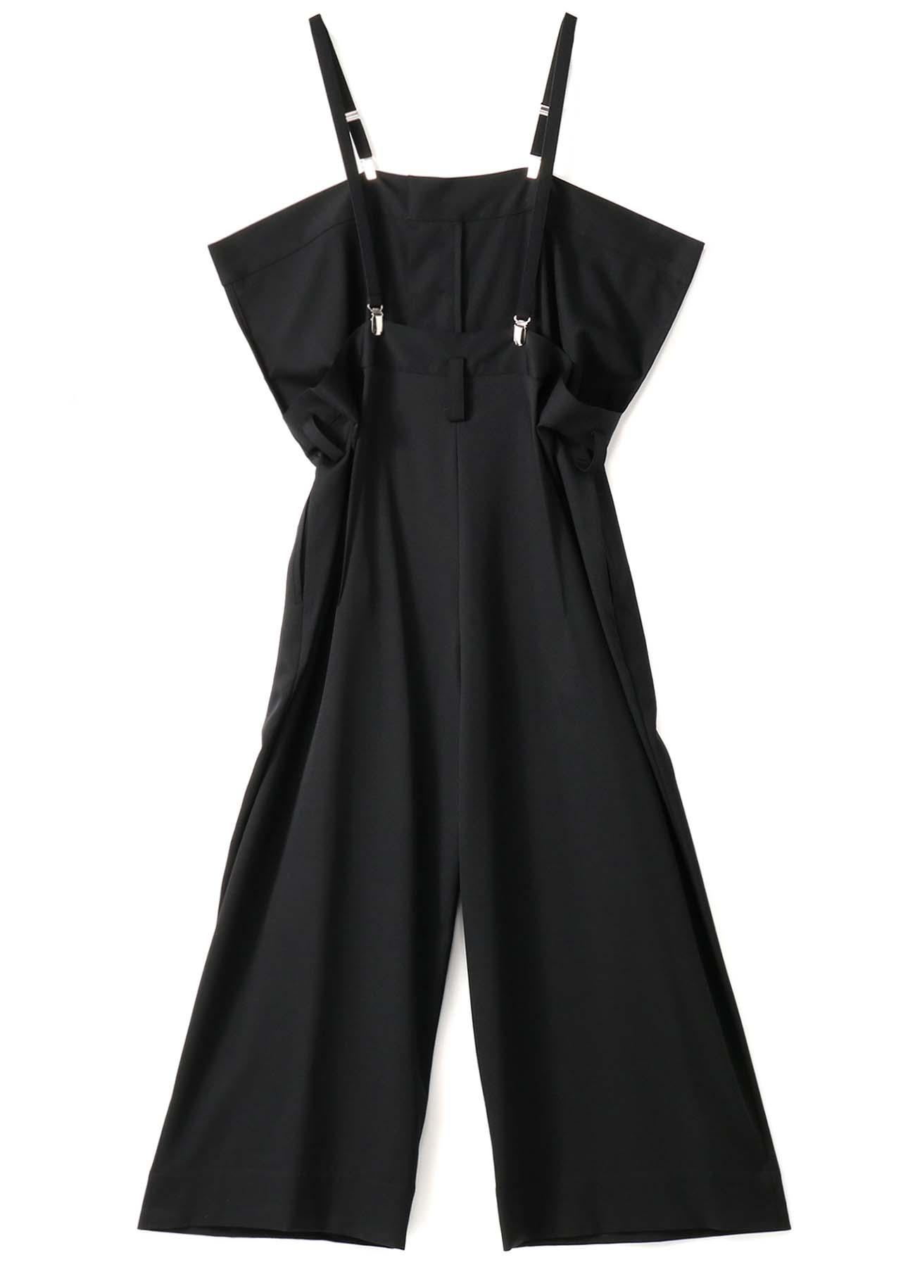 W/Gabardine Suspenders Overalls