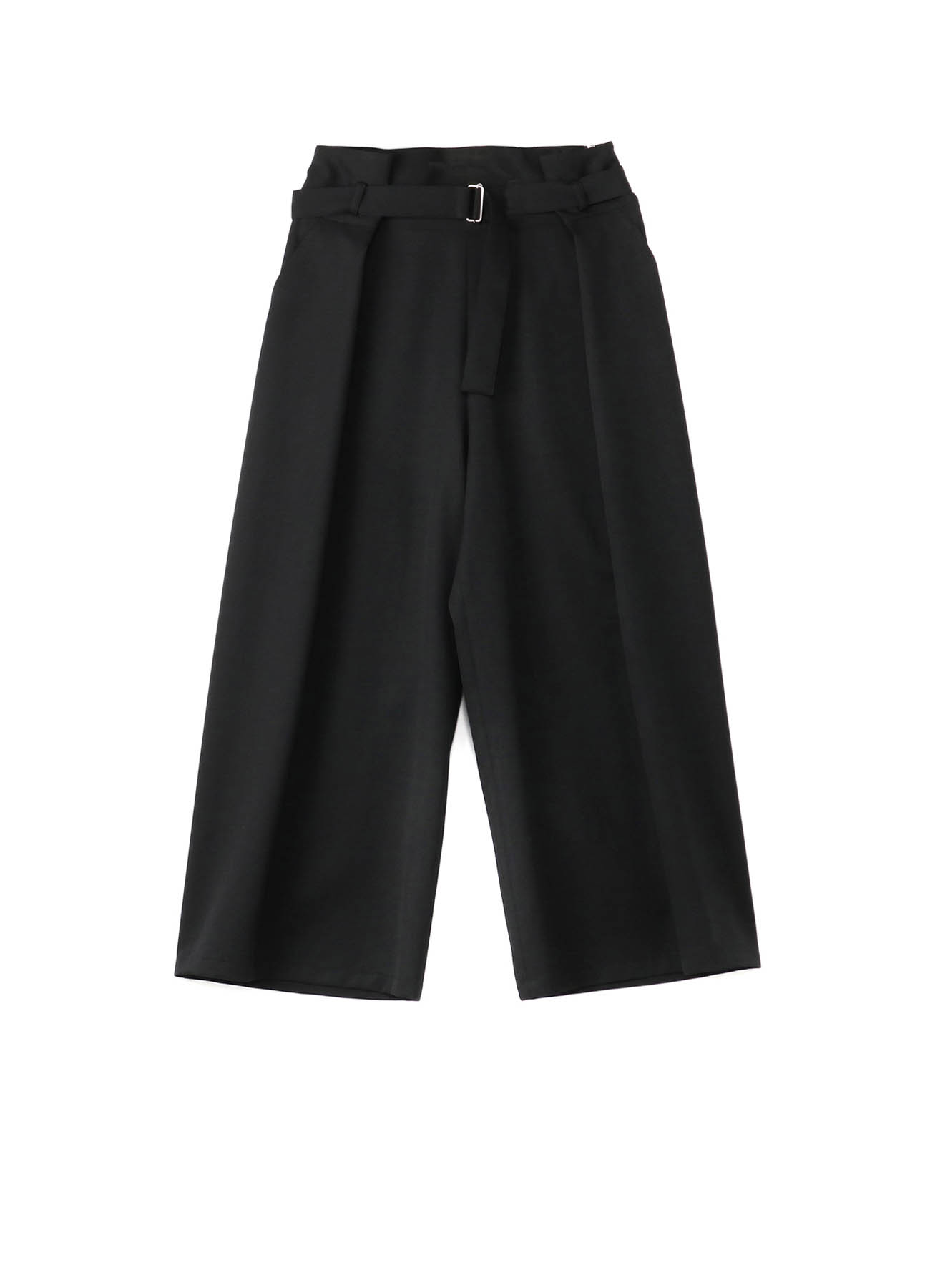 W/Gabardine Belt Wide Pants