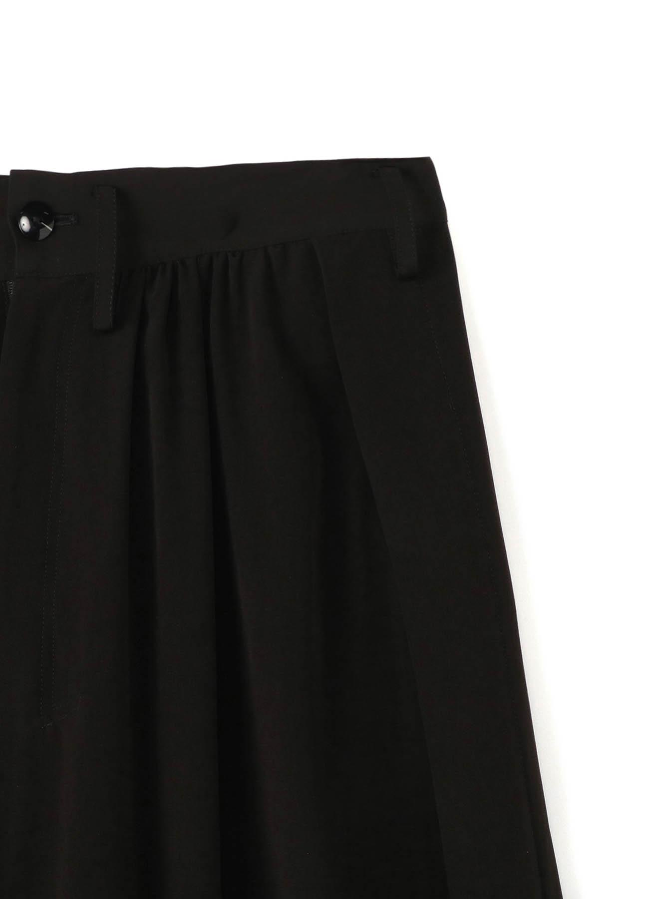 Ta/Pe Decyne Side Slit Gather Pants