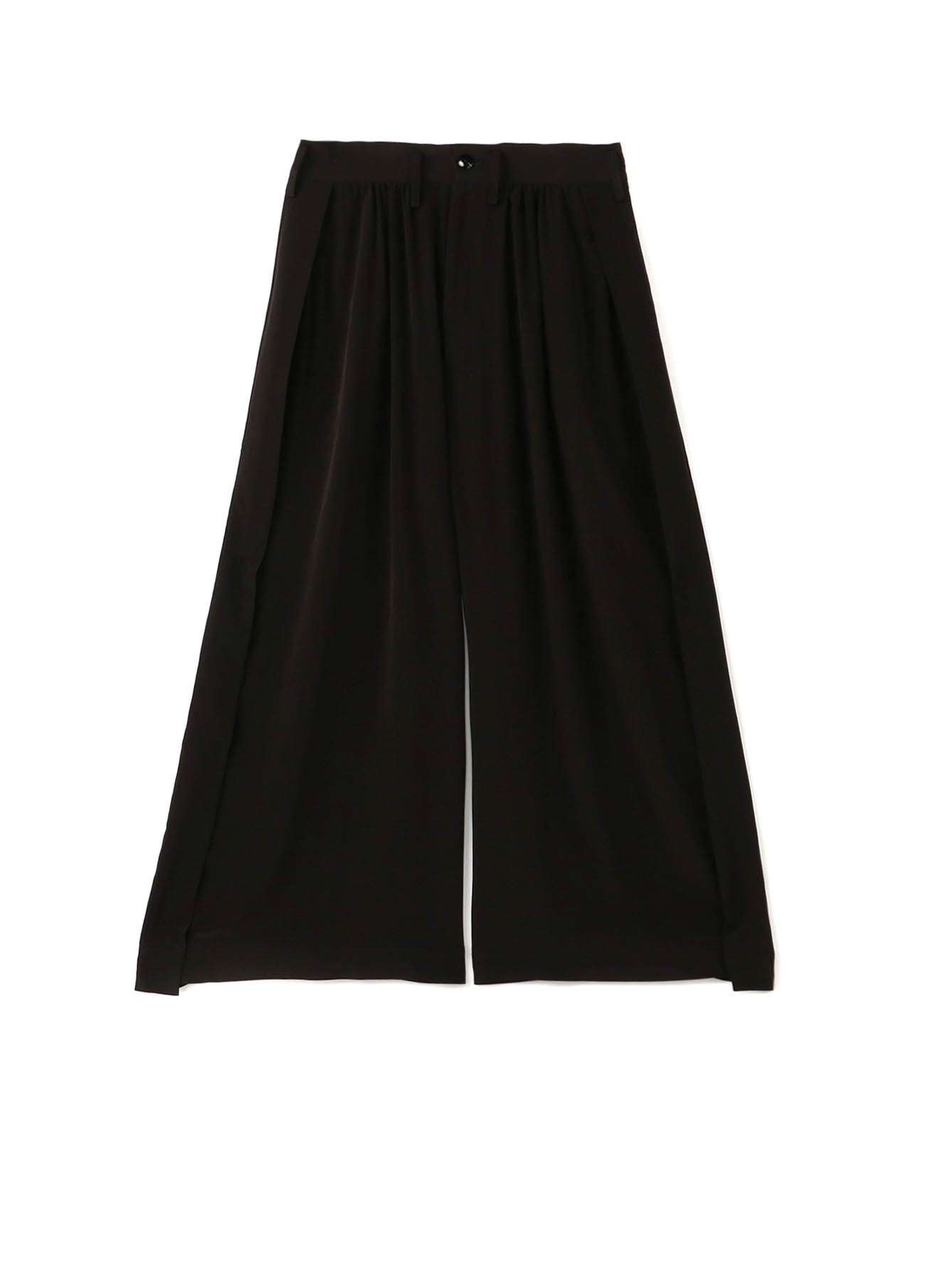 Ta/Pe Decyne Side Slit Gather Pants