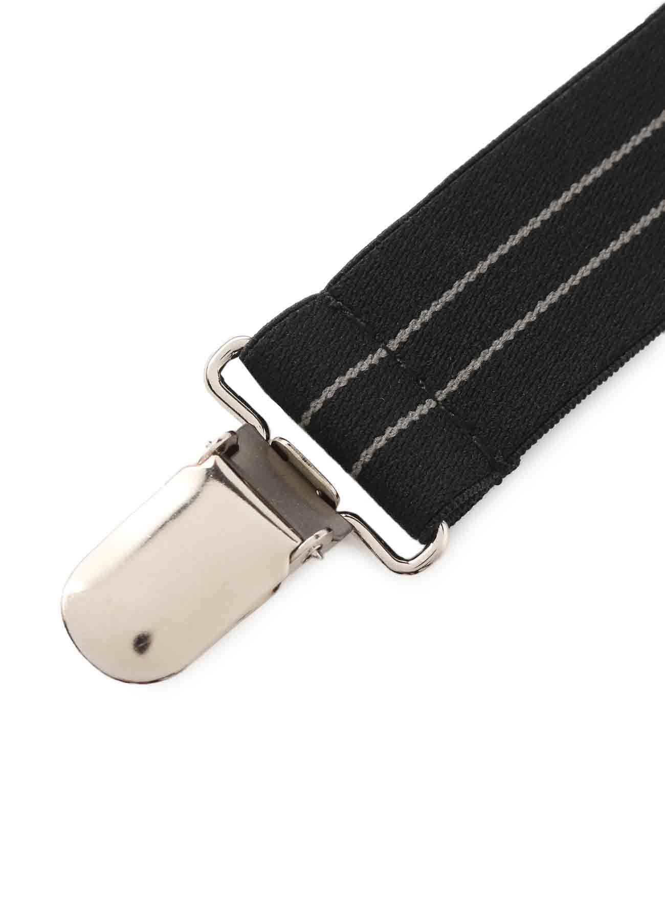 Ny/Pe Rubber Logo Suspenders
