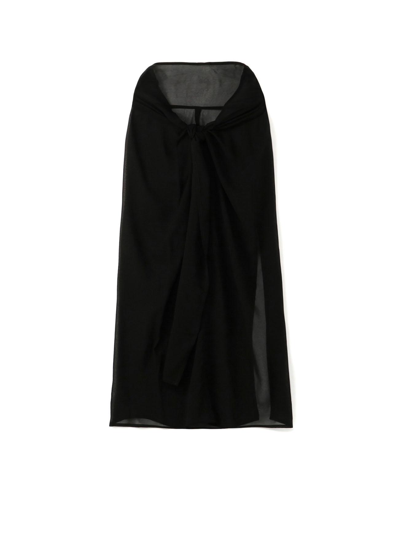 Cu/Chiffon Waist Knot Skirt