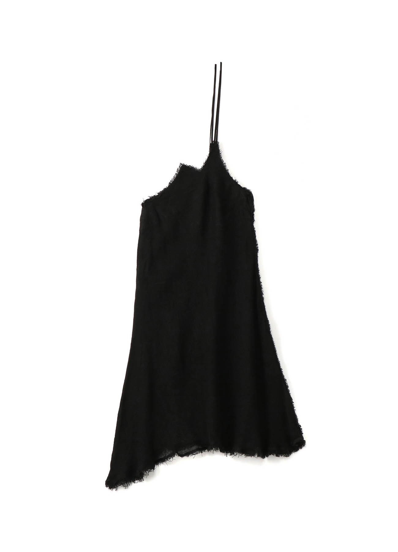Linen Leno Asymmetry Hanging Skirt