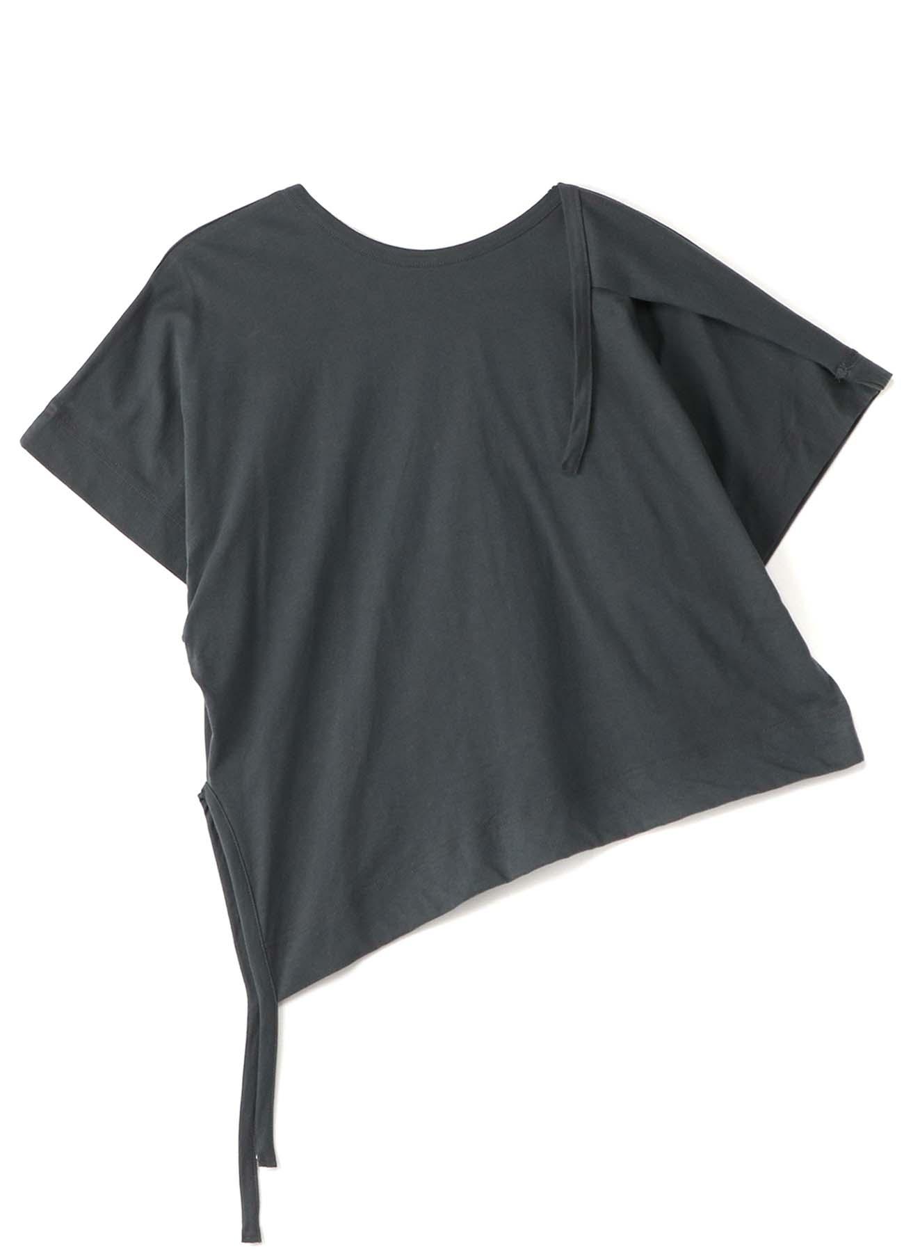 30/- Cotton Plain Stitch Asymmetry Design T