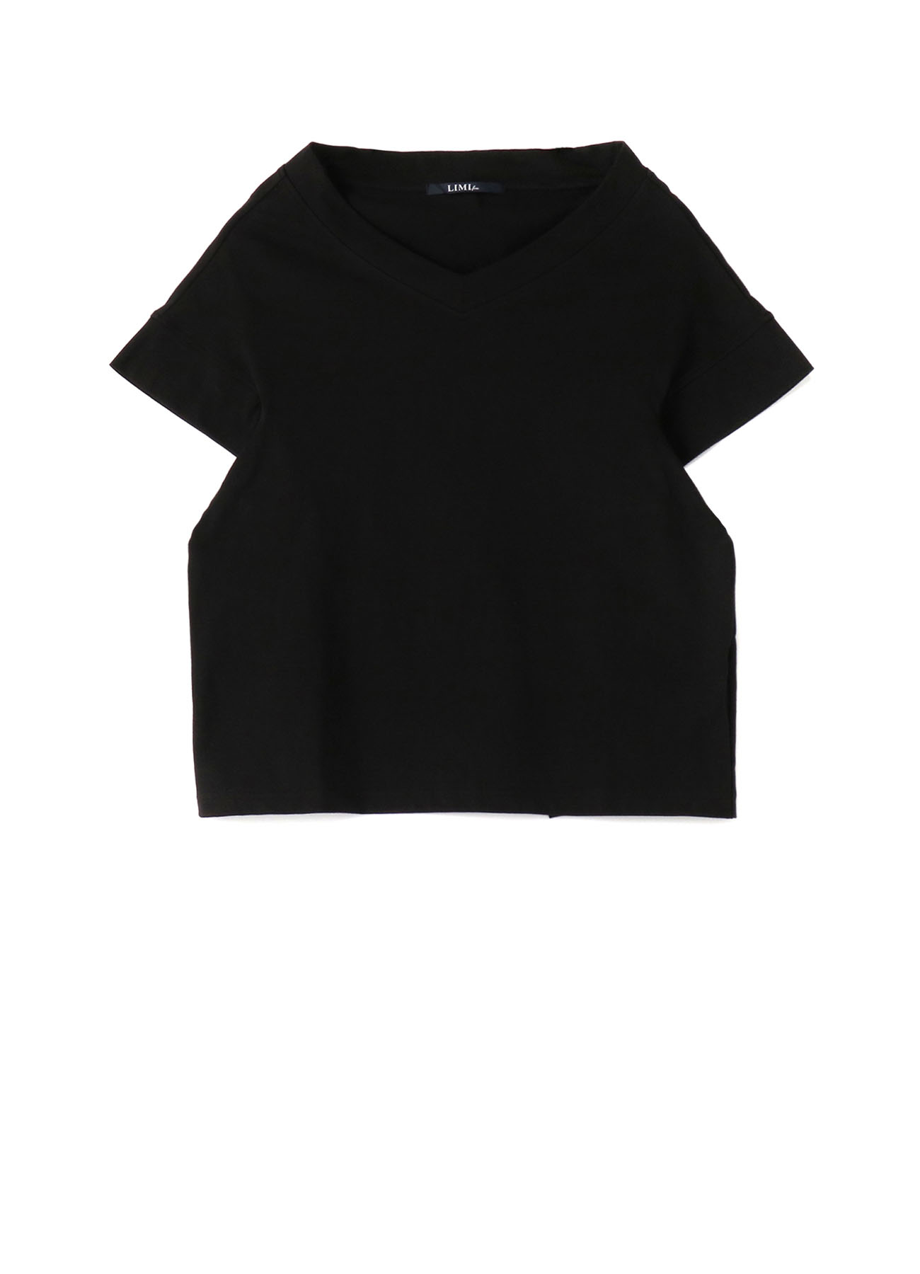 Random Net Embroidery V-Neck T
