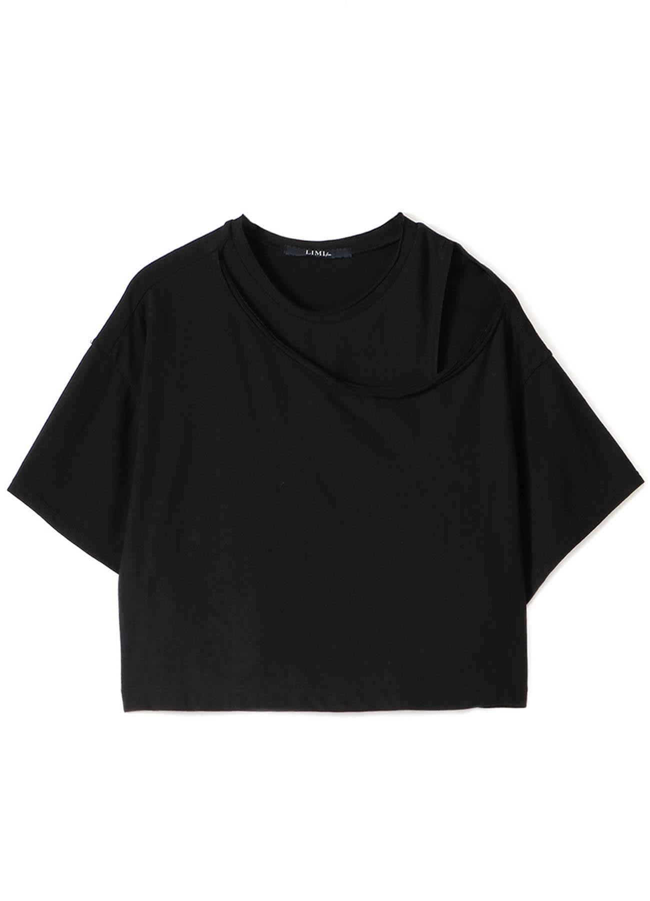 30/-sz Cotton Strong twisted Plain Stitch Layered Short T