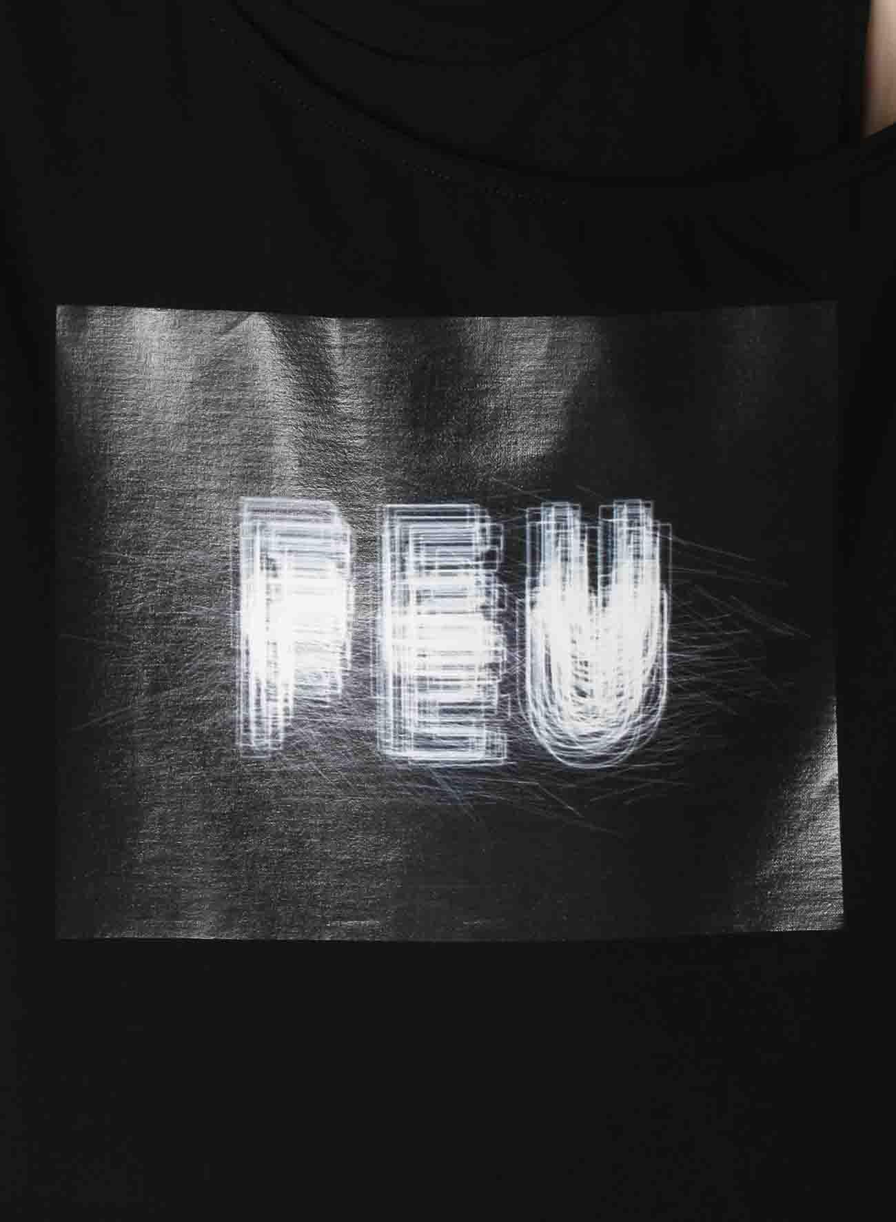 Neon [FEU] Print Layered Short T