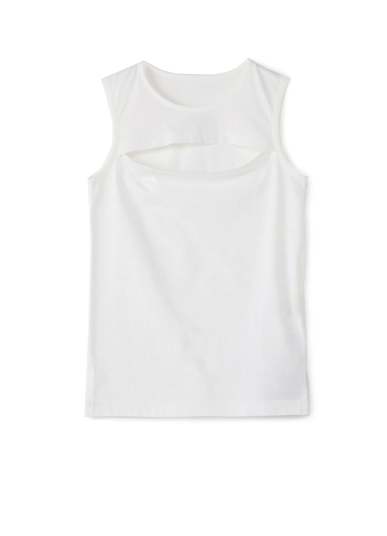20/-C Plain Stitch Chest Slit Tank