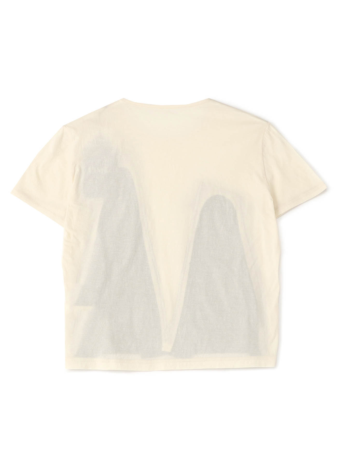 Cotton Crepe Plain Stitch Mix Layered Design T