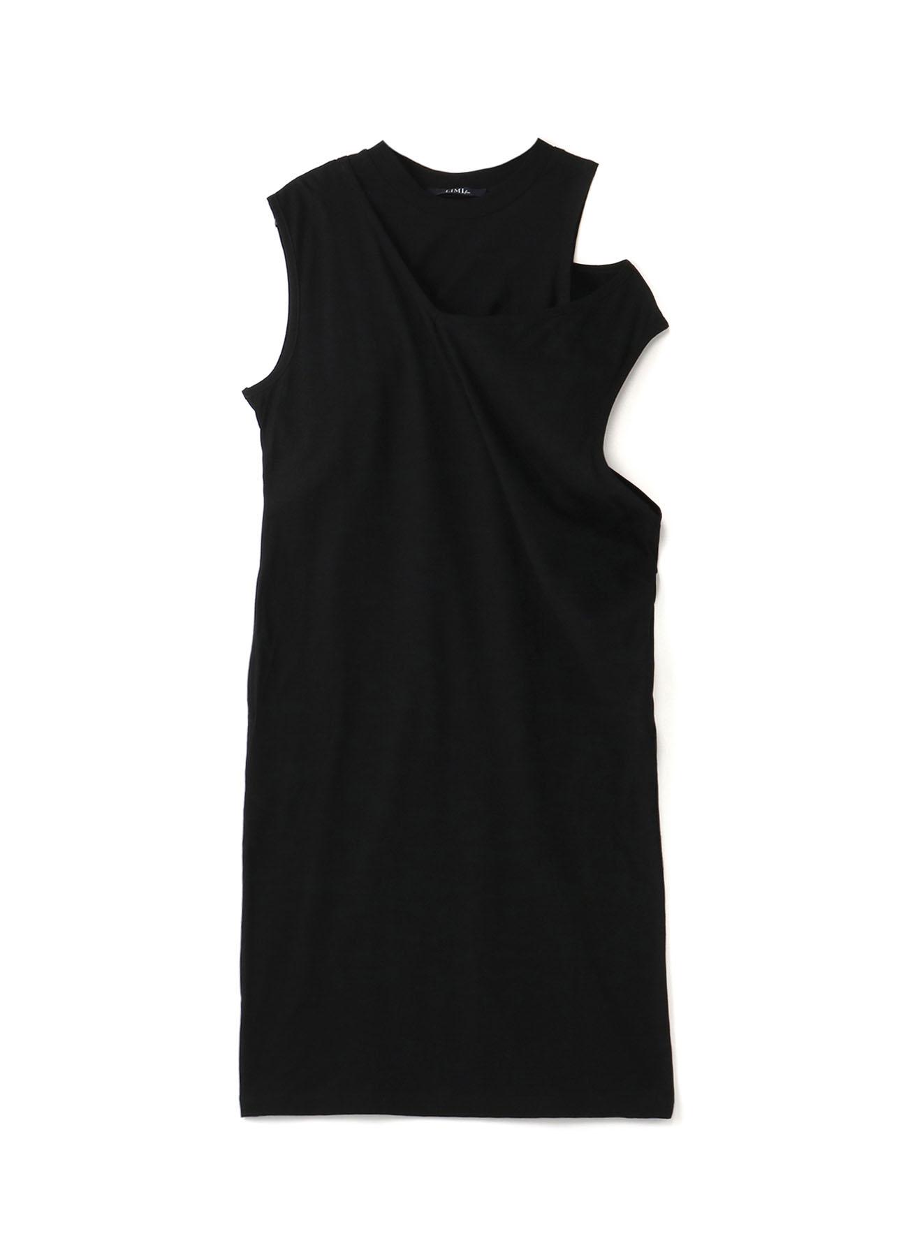 Cotton Dry Plain Stitch Layered Dress