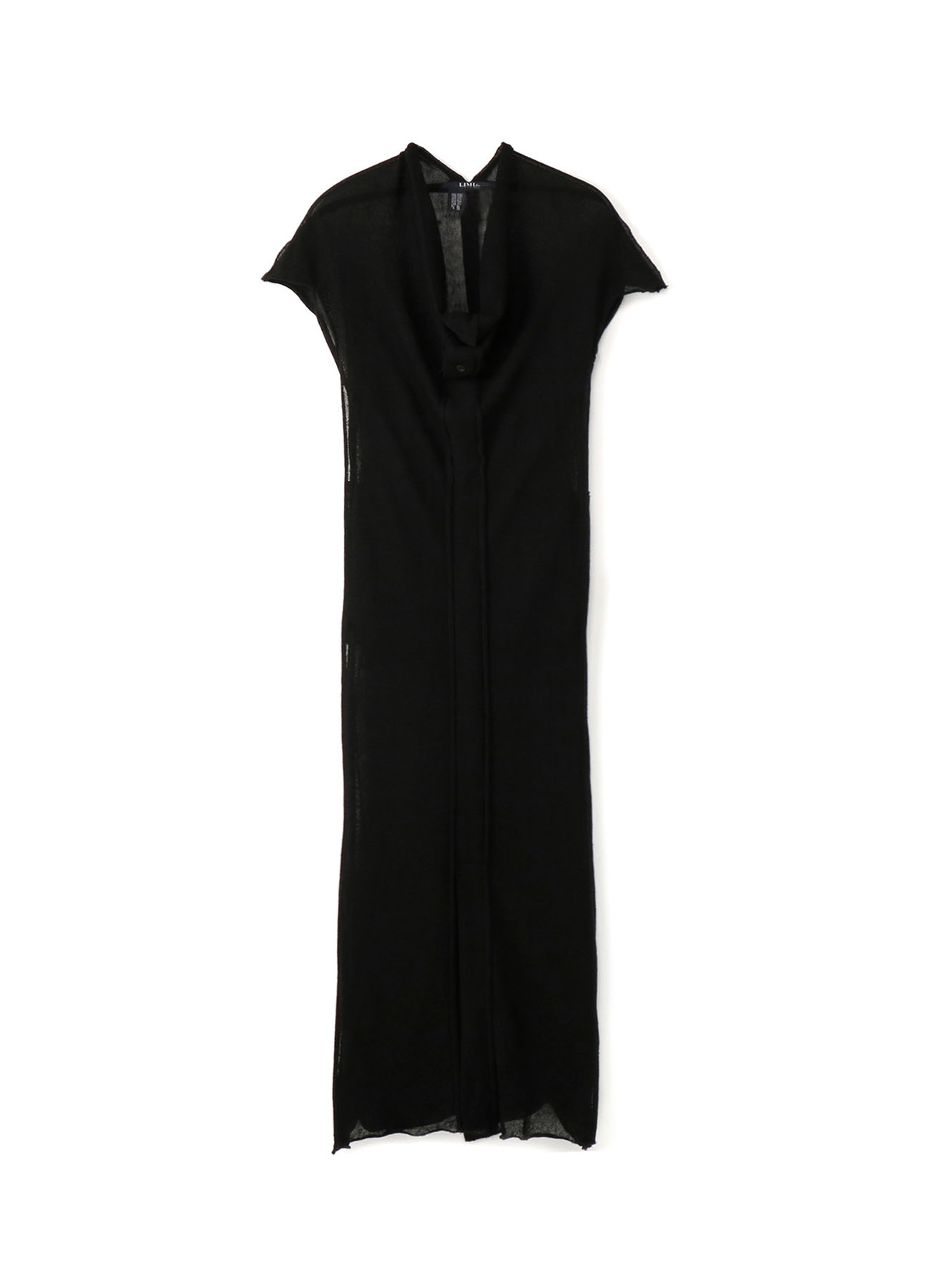 Li/Pe Knitted Plain Stitch High Neck Dress