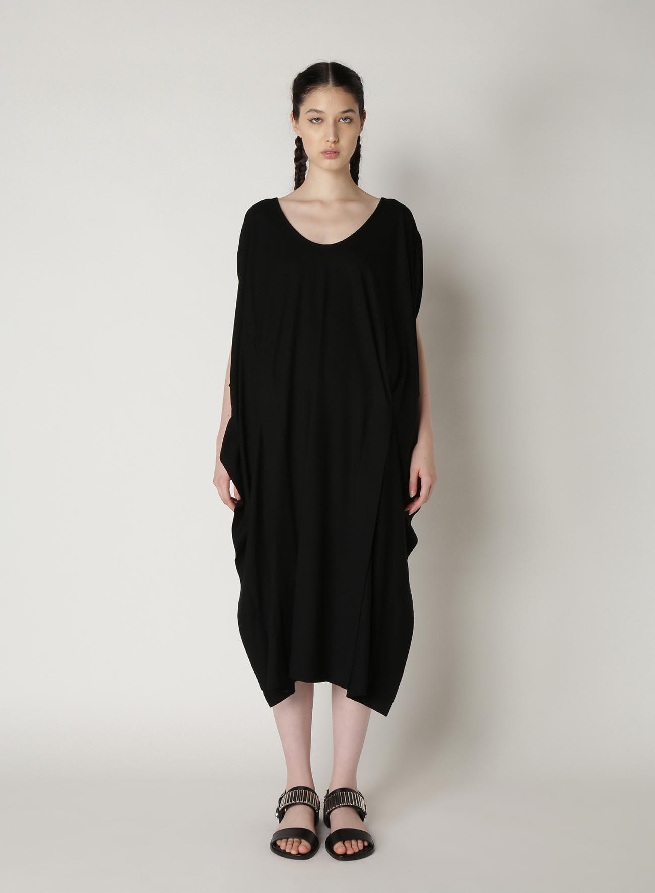 Cotton Dry Plain Stitch Cut Out Design Dress
