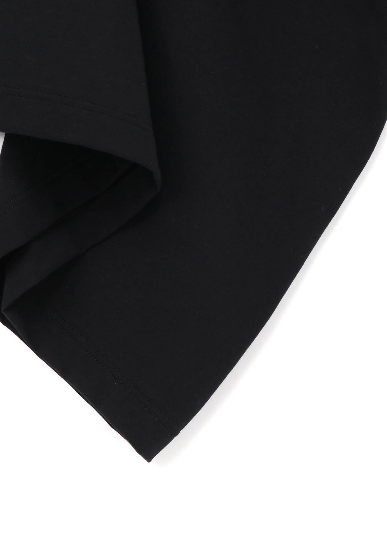 Cotton High gauge Plain Stitch A Half sleeve Tuck One-piece
