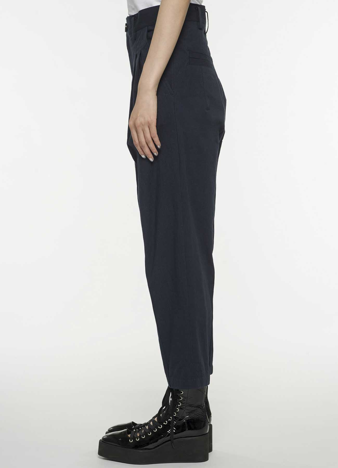 混纺低档铅笔裤