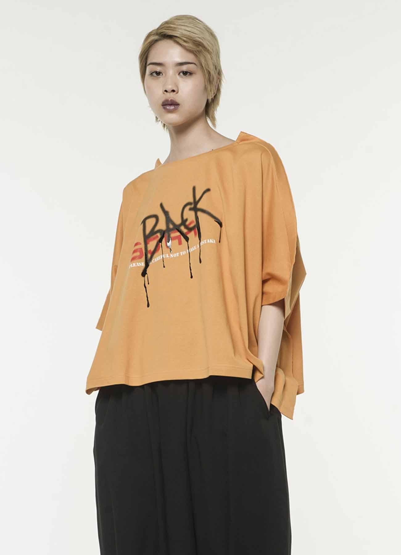 BACK&FACE 四角T恤