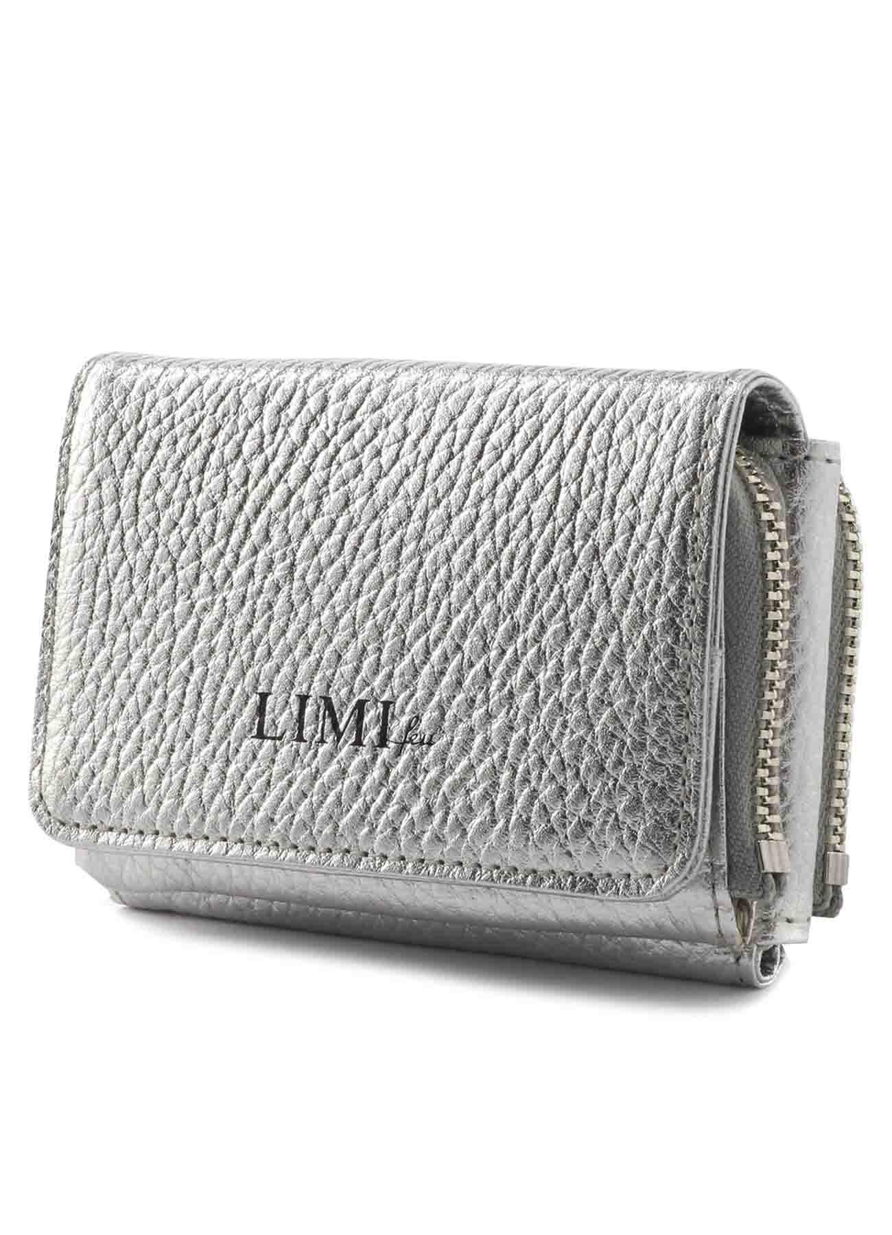 メタリックレザーミニ財布