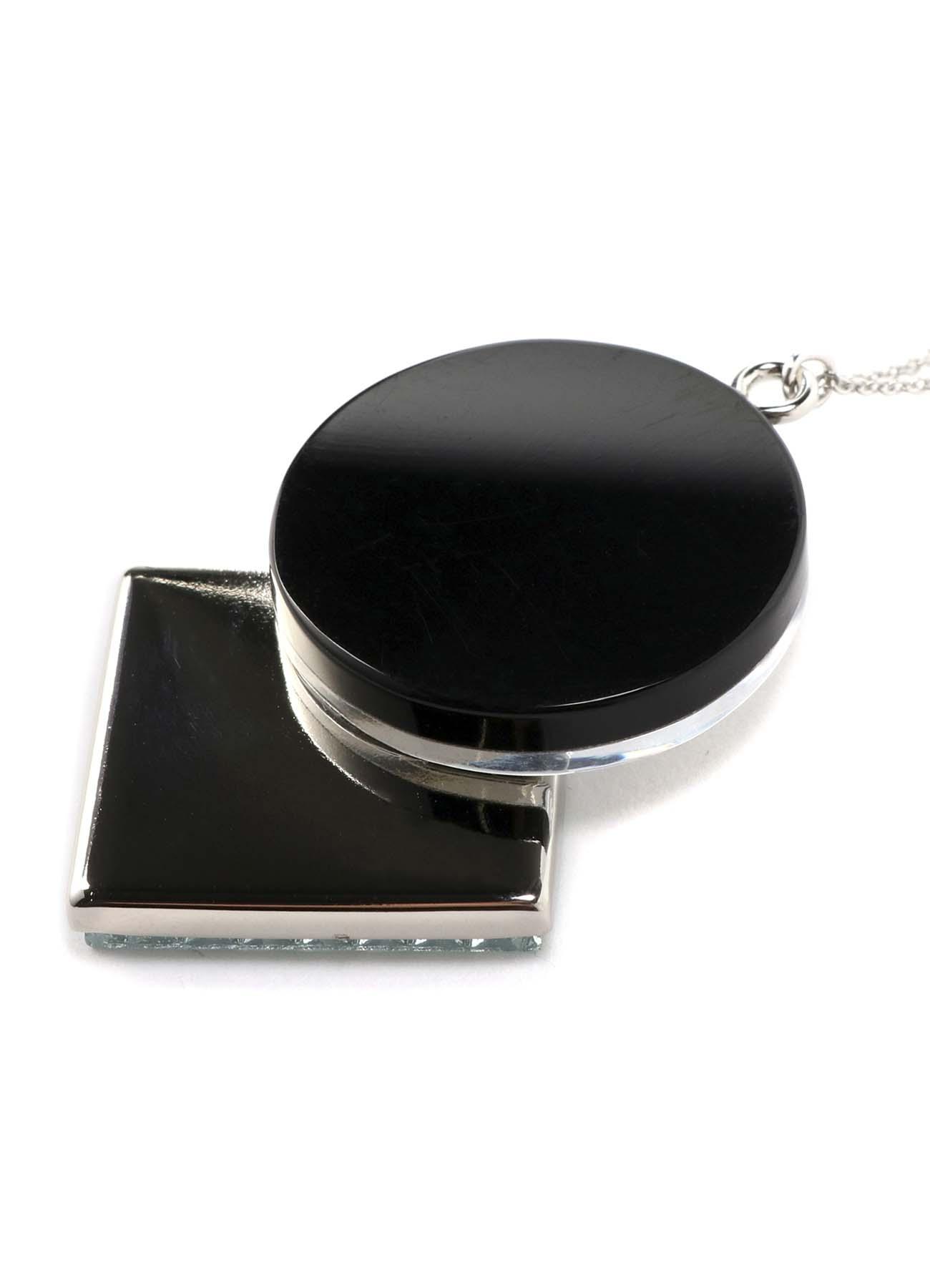 陶磁器タイルダイヤタイルネックレス