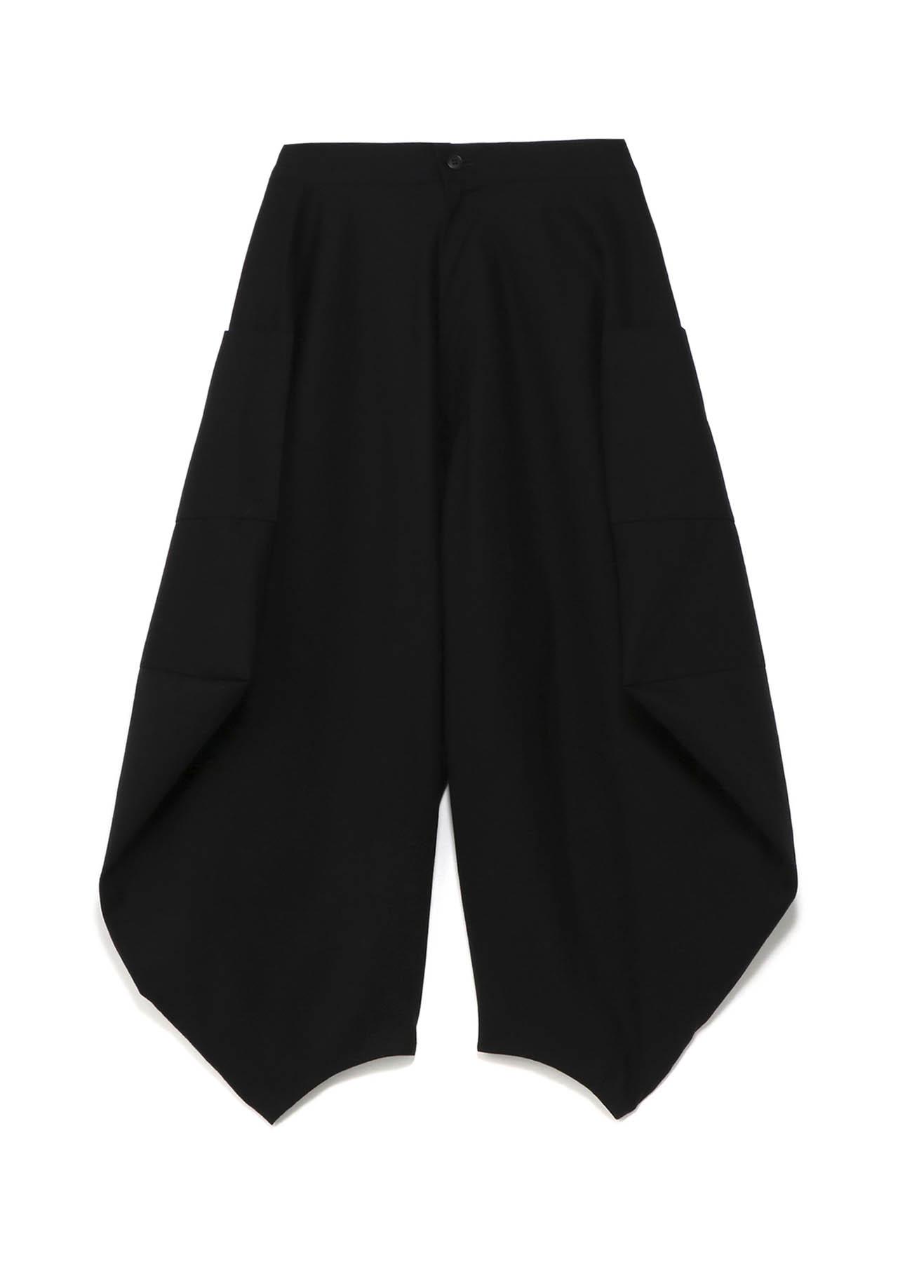 几何变形七分裤