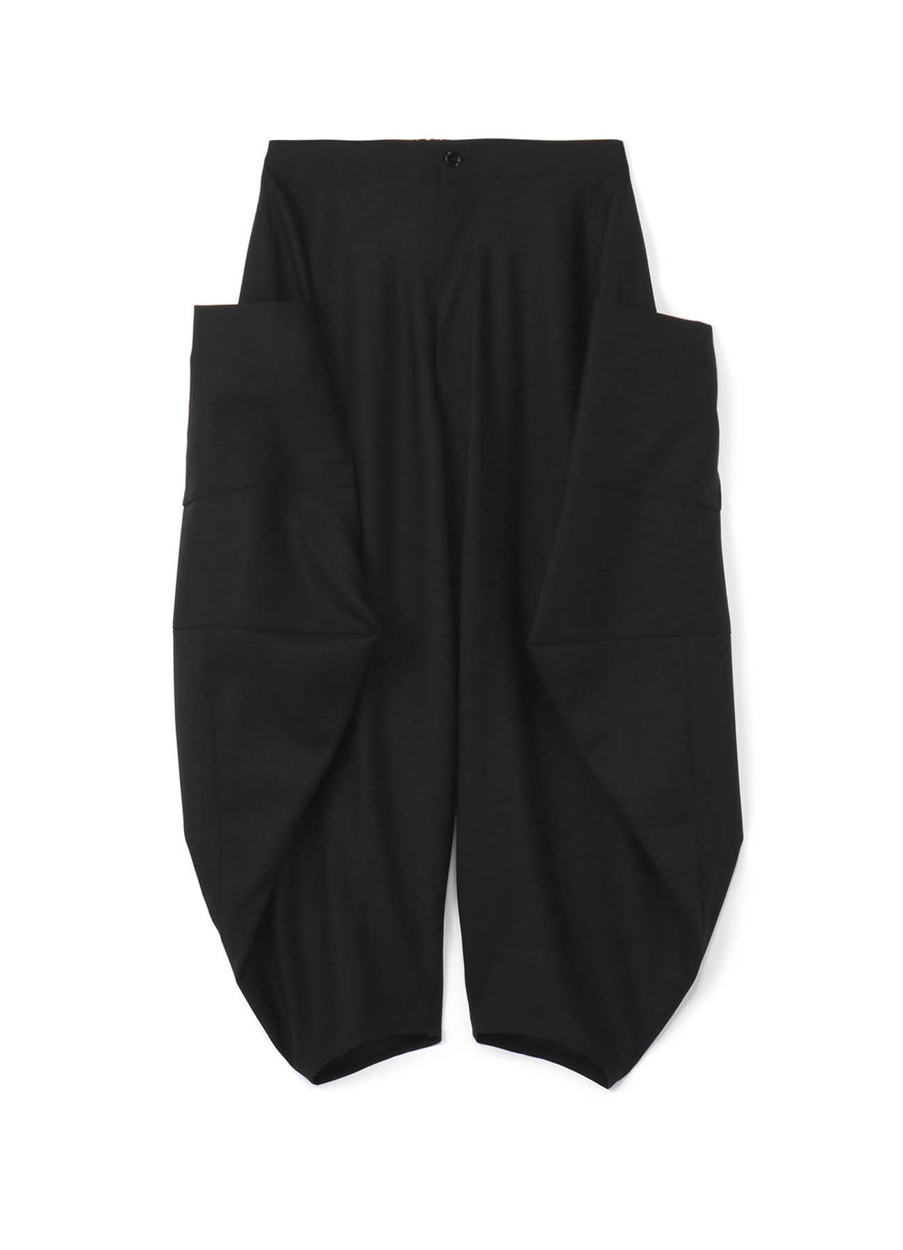 立体变形几何长裤
