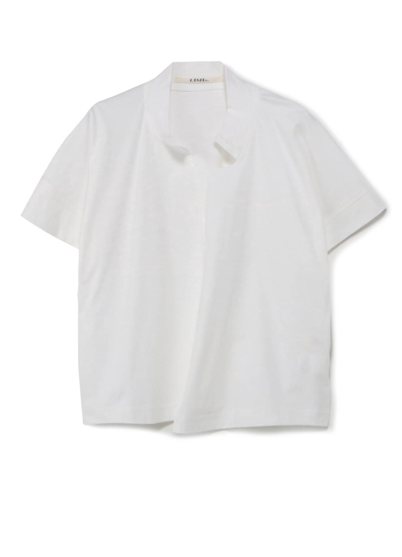错位超短短袖T恤