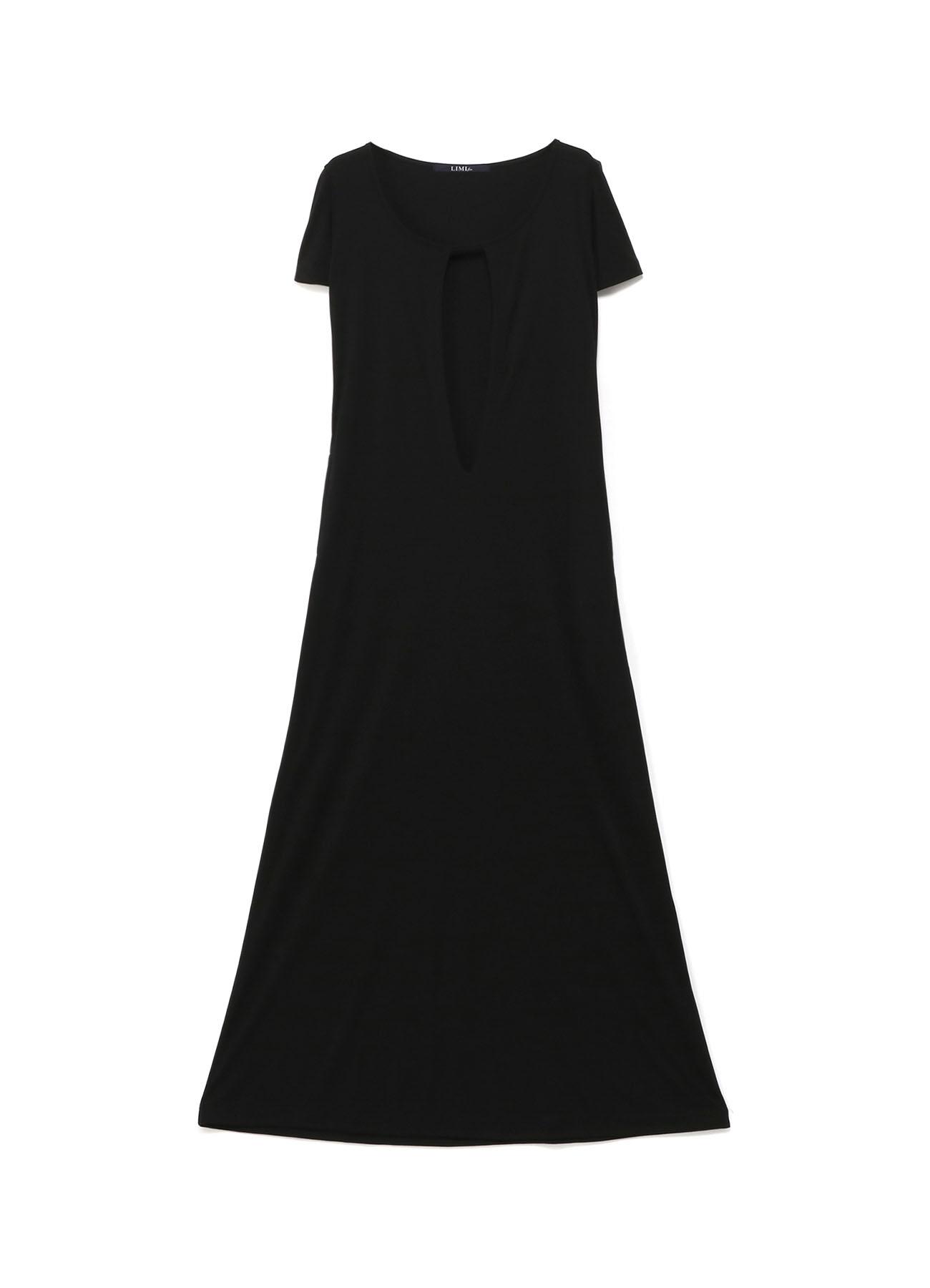 深V连衣裙