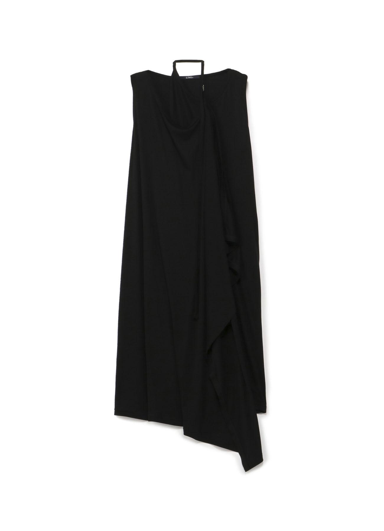 层叠无袖连衣裙