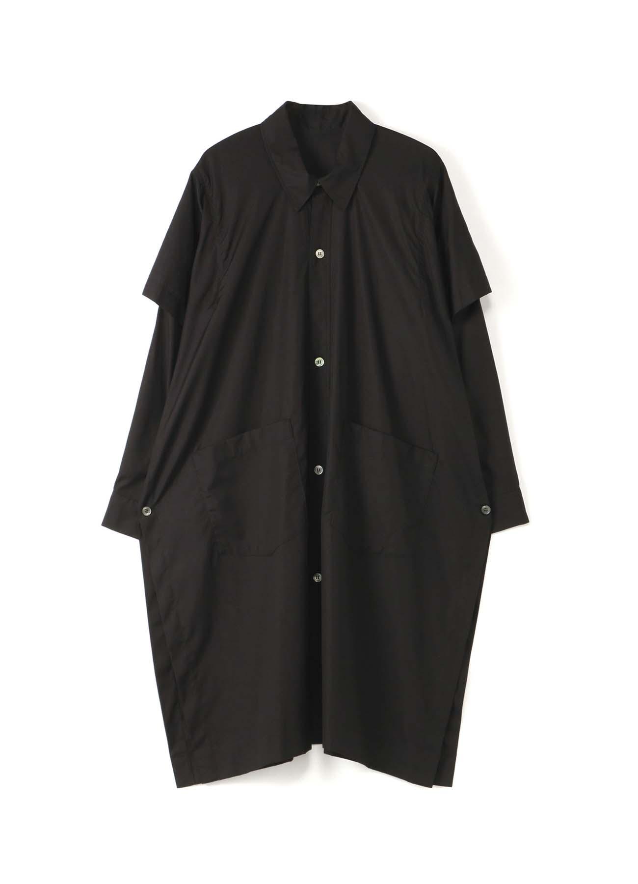 100/2 ブロードBスクエアロングシャツ・A