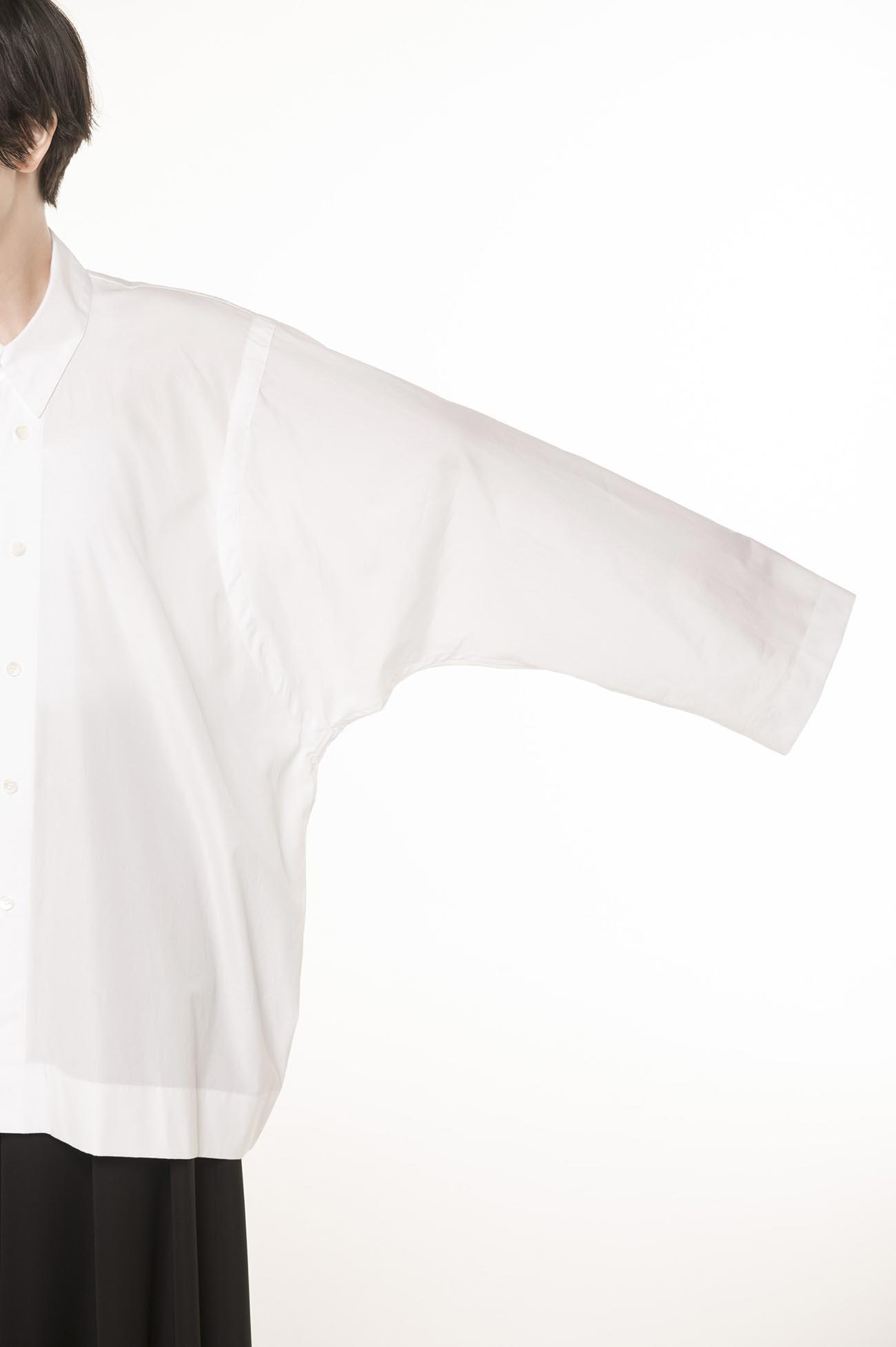 100/2 ブロードBW釦シャツ