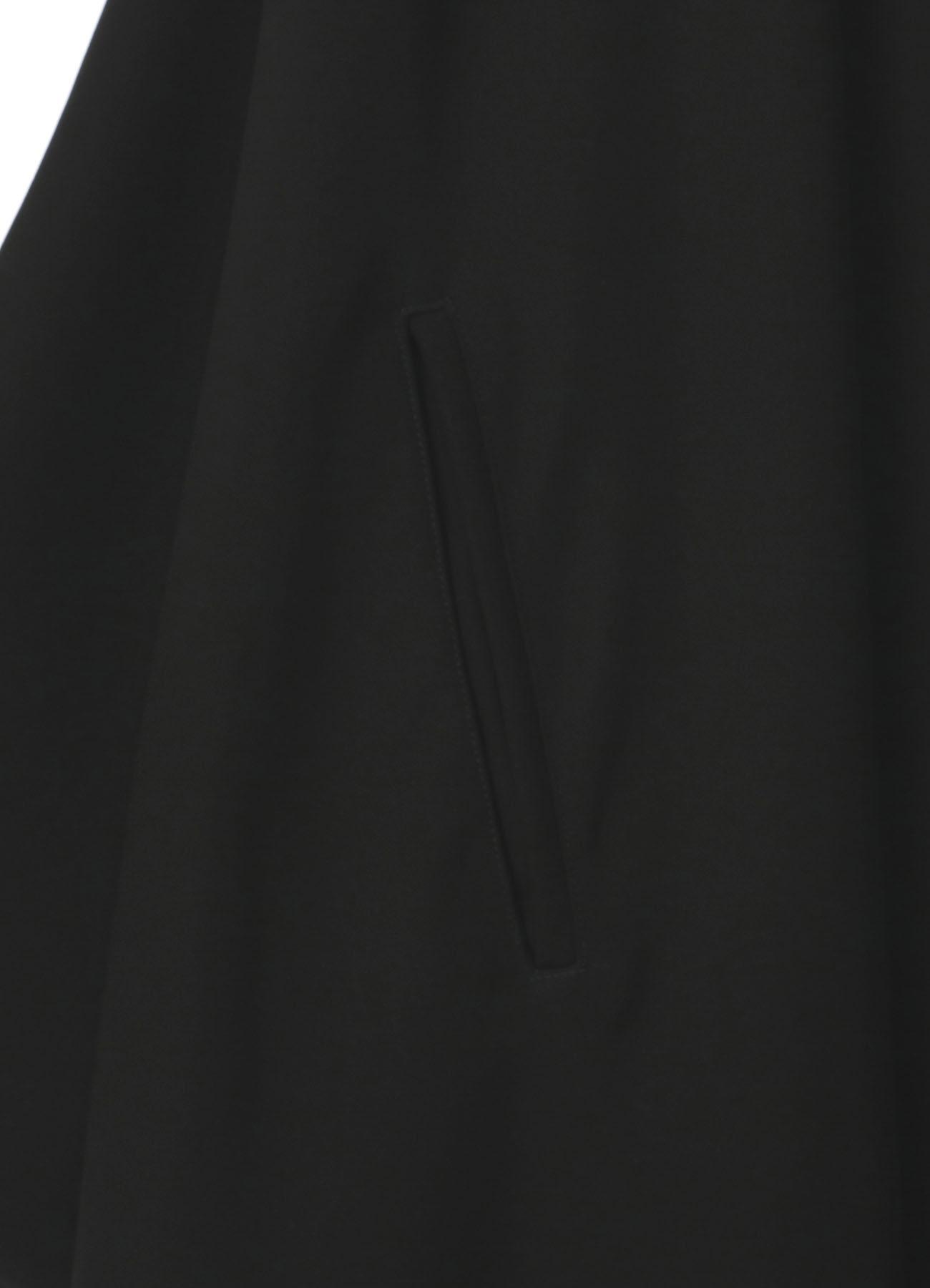 双色缎肩露肩连衣裙