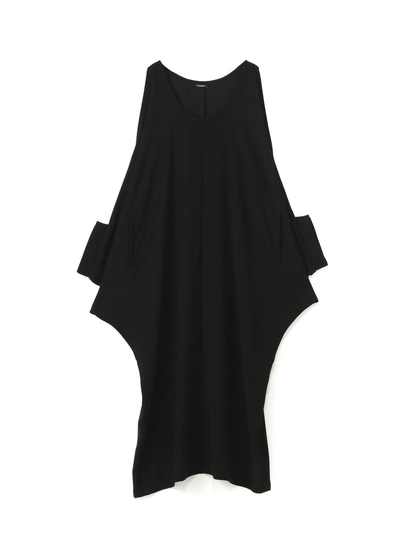 ダブルサテンショルダーオープンドレス