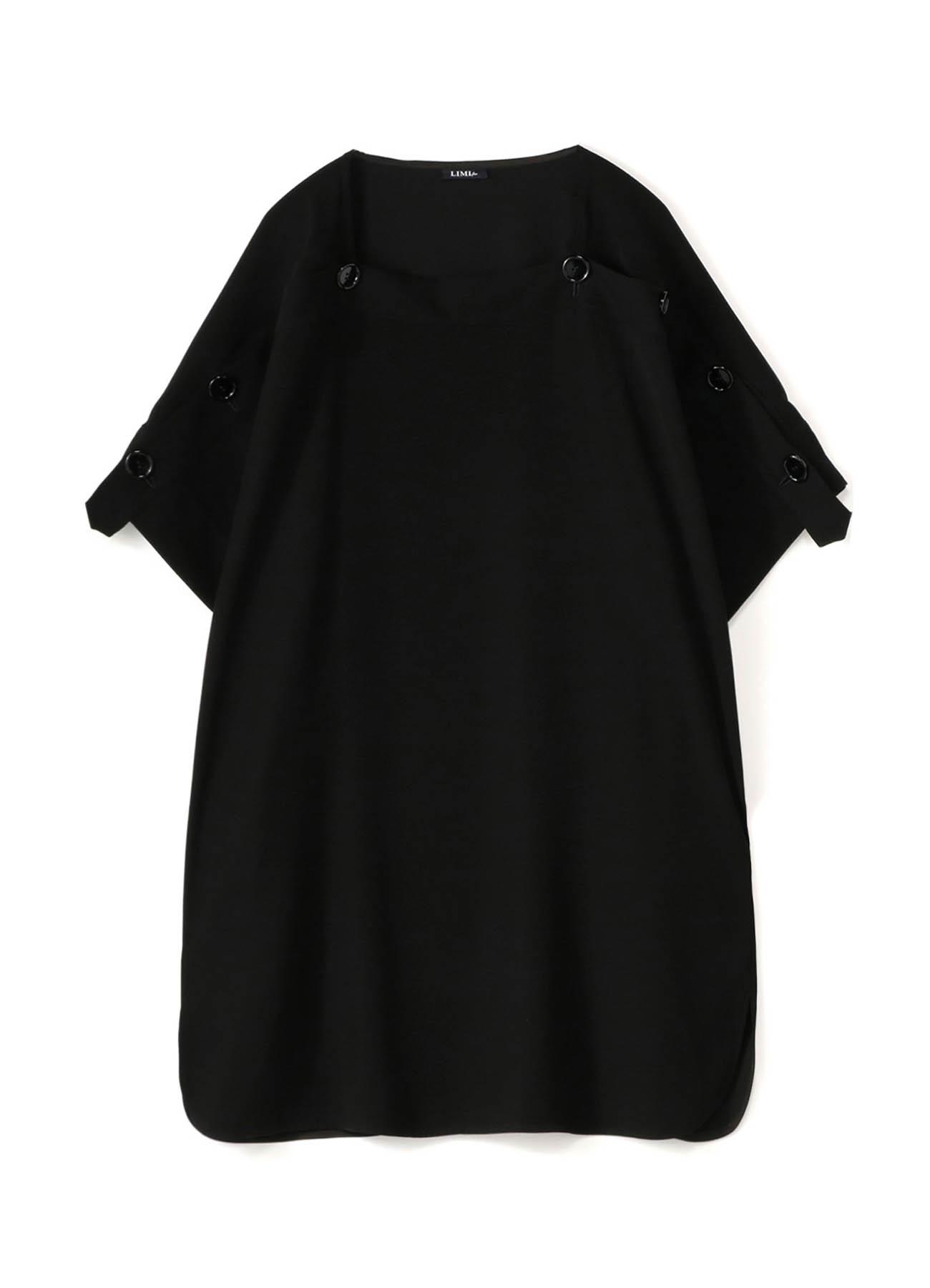 Double Satin Yoke Paneled Dress