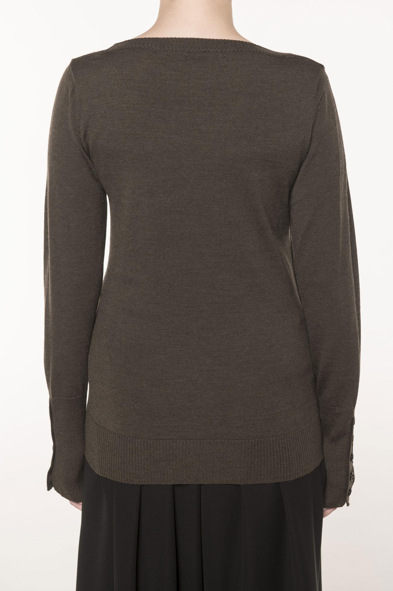 シーズンカラーB釦開きセーター