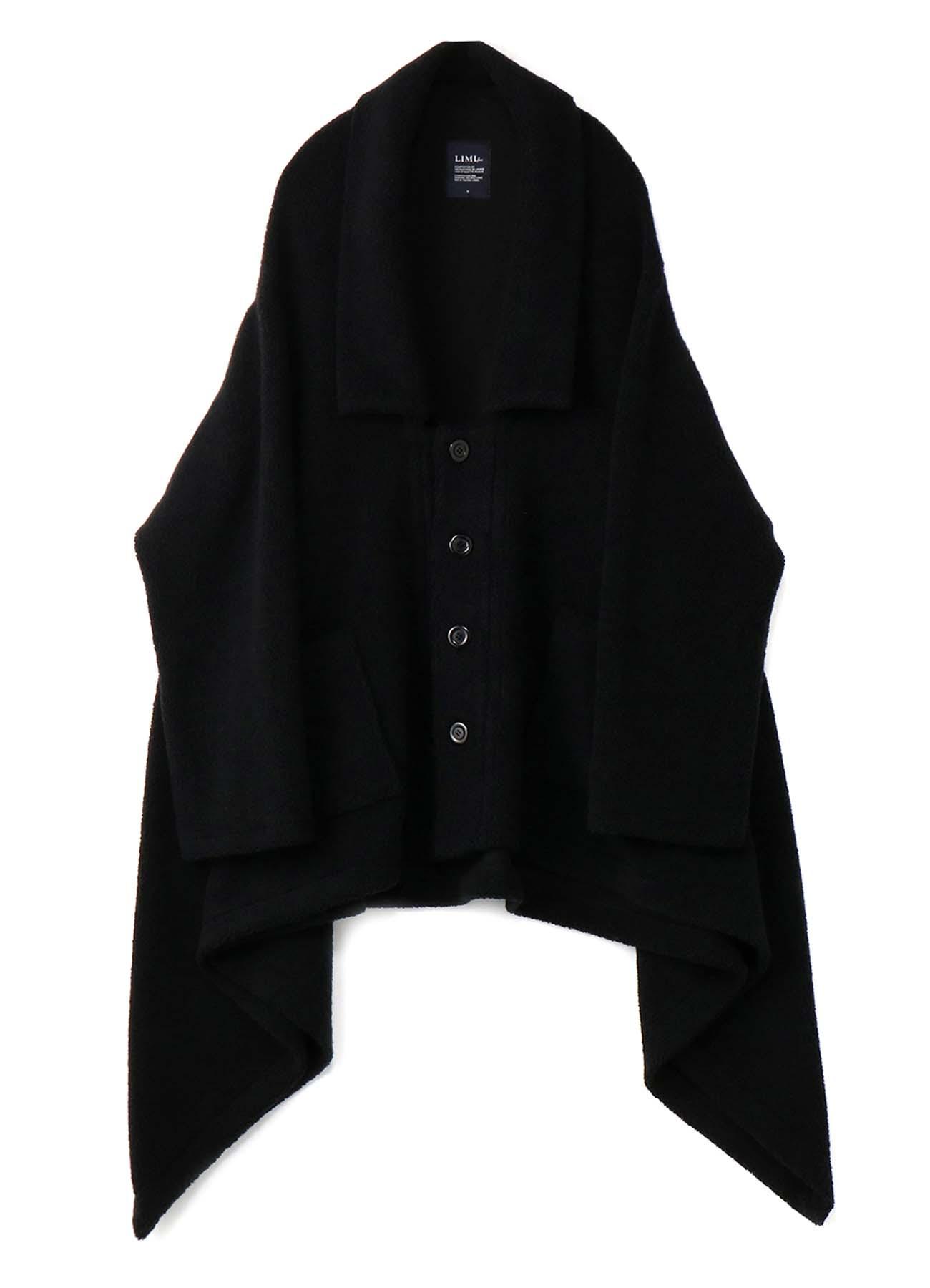 シープパイル衿付BロングCコート