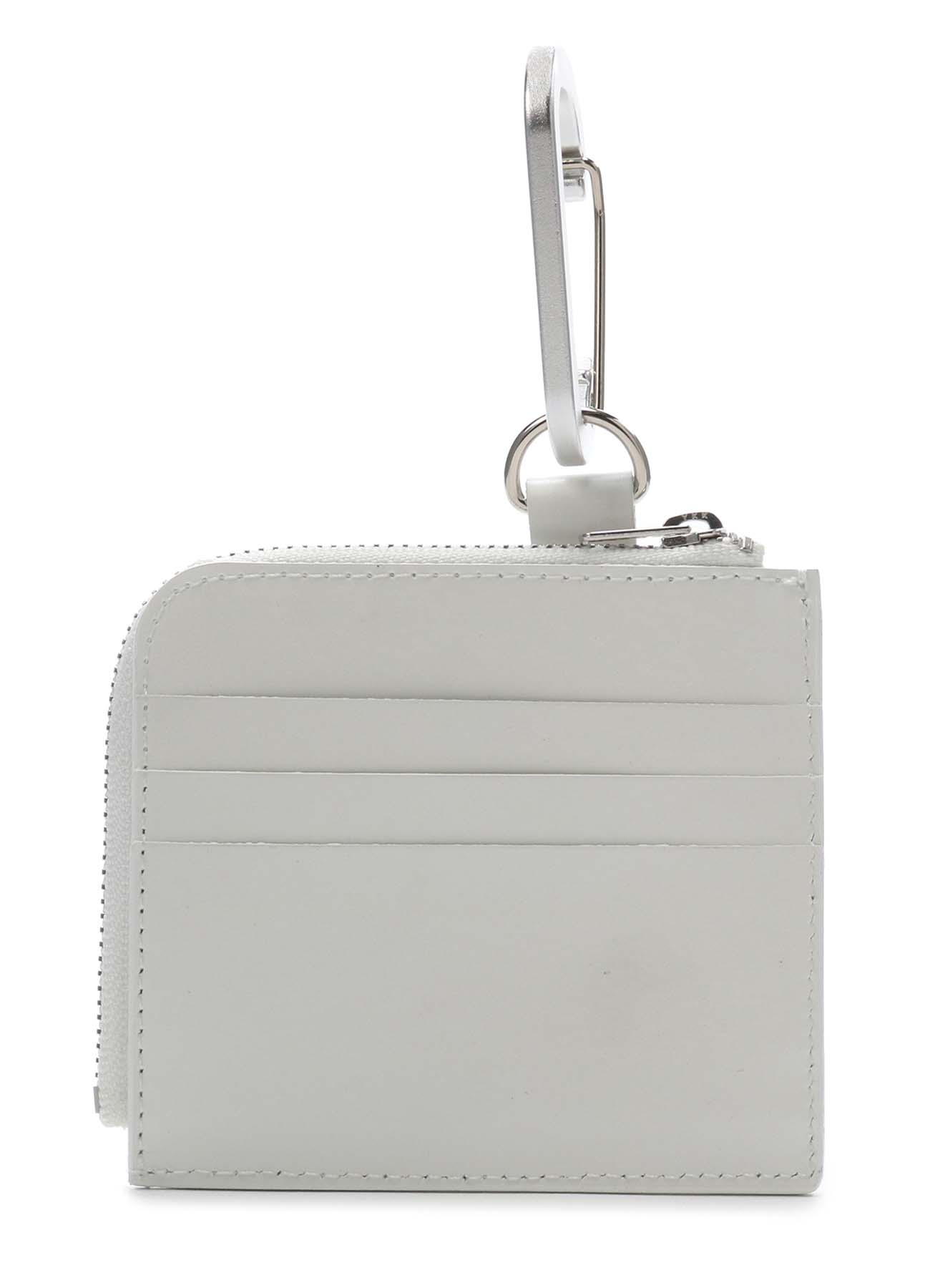 Sheep Glass Leather Short Wallet