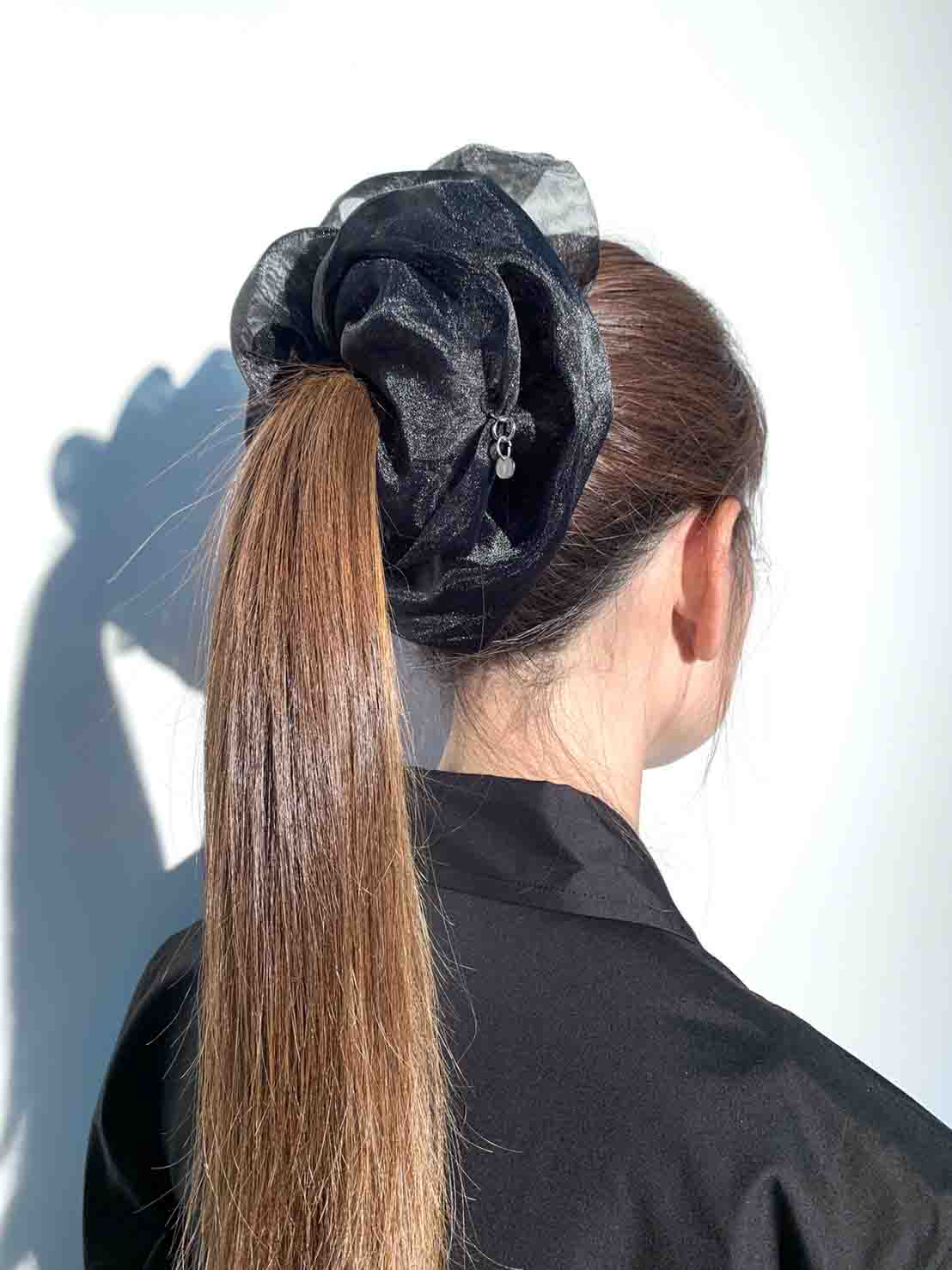 [THE SHOP Limited Product]Pe Organdy  Big Scrunchie
