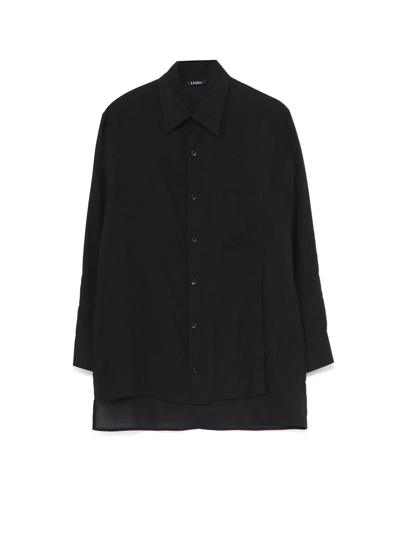 Soft Lawn Left Open Placket Shirt