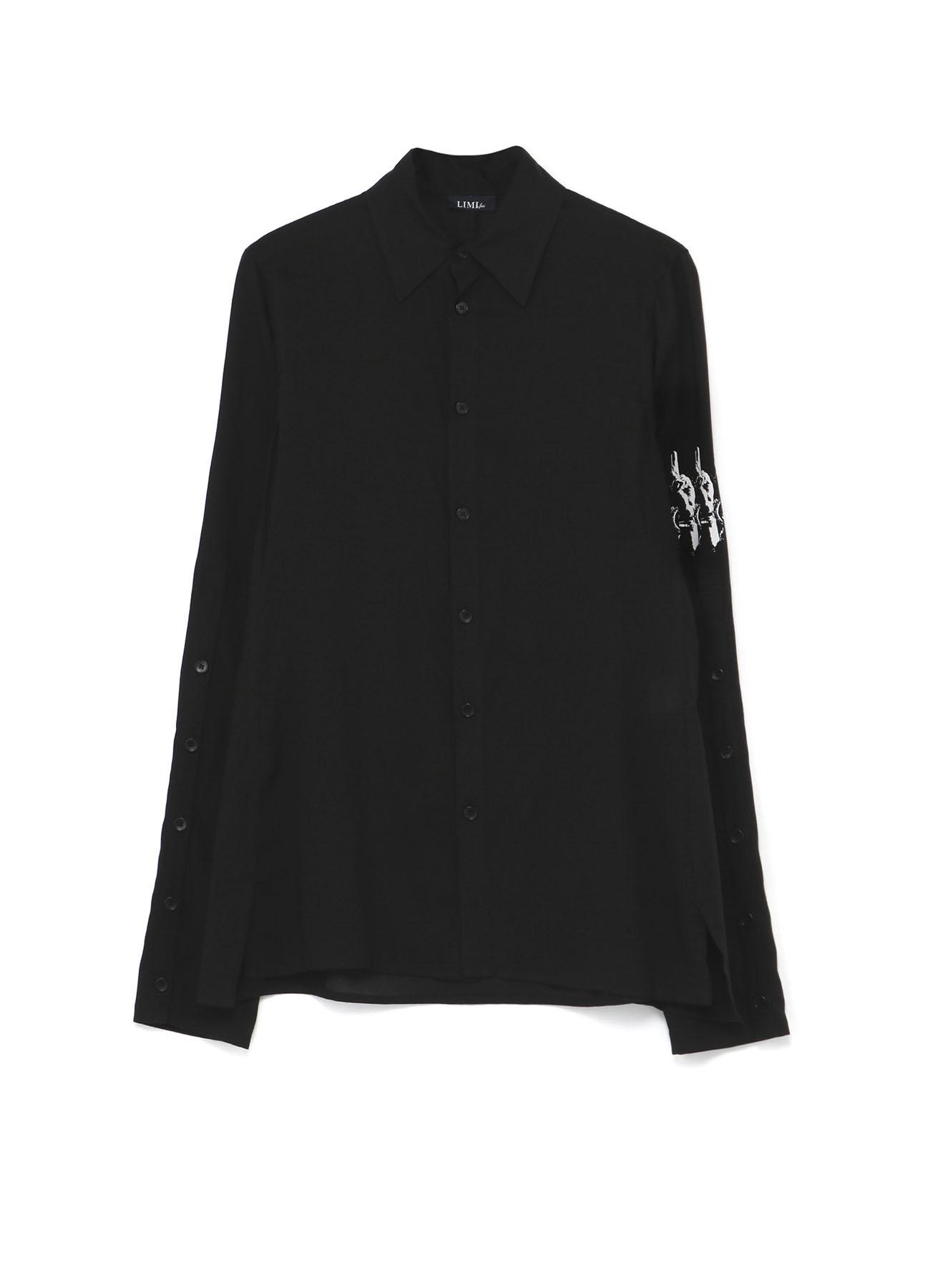 L Print Long Sleeve Shirt