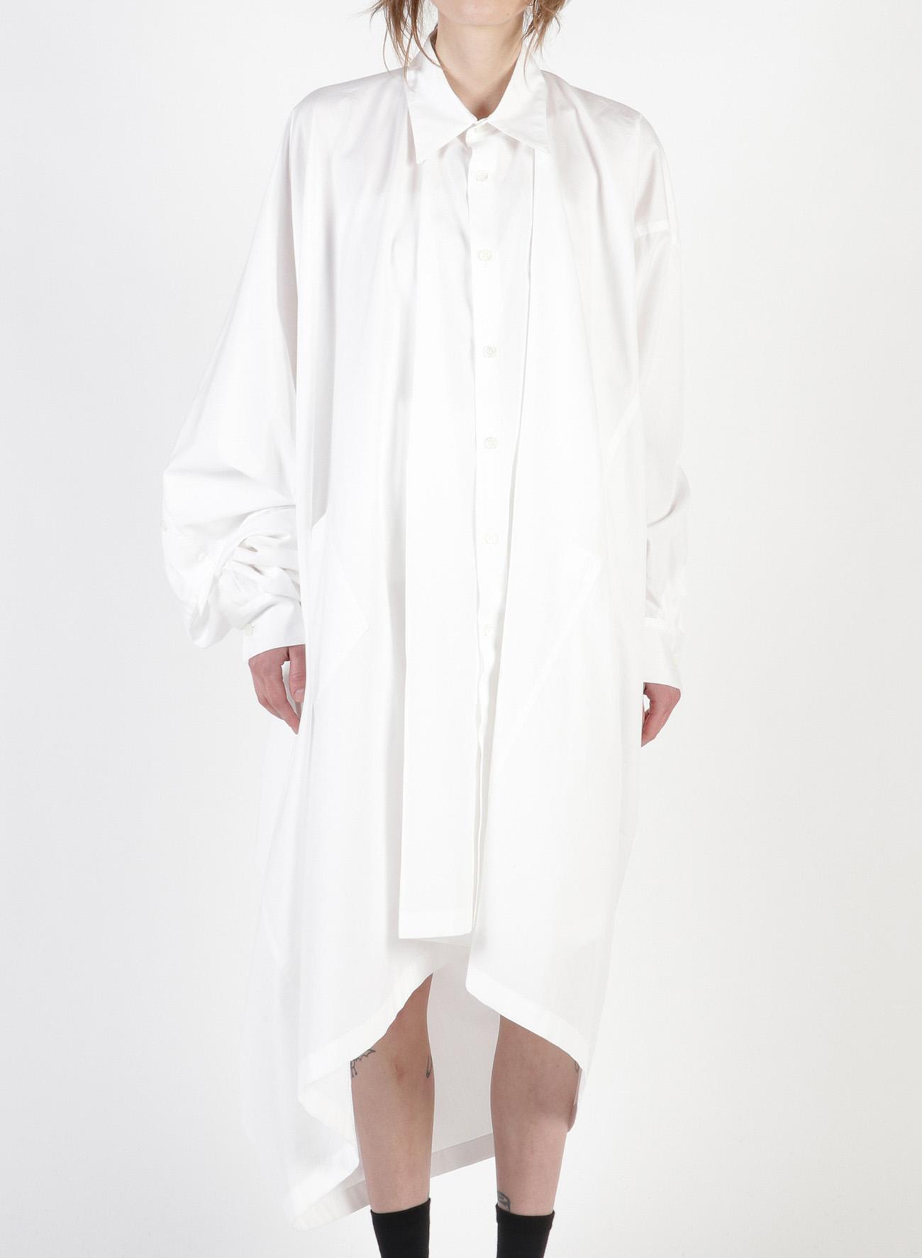 100/2 Broad B Asymmetry Shirt Dress
