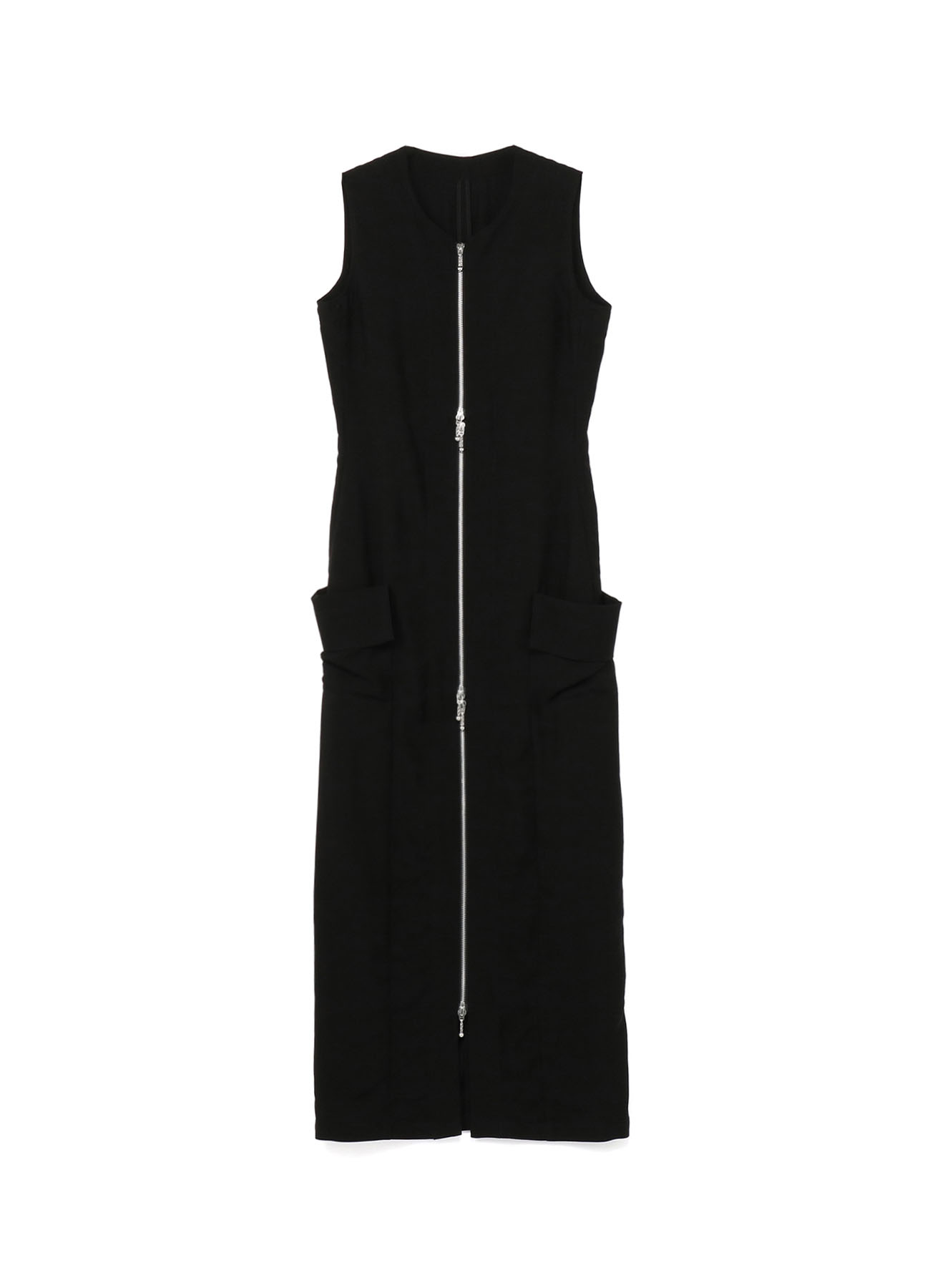 Ly/Cu Gabardine Tight Fastener Dress