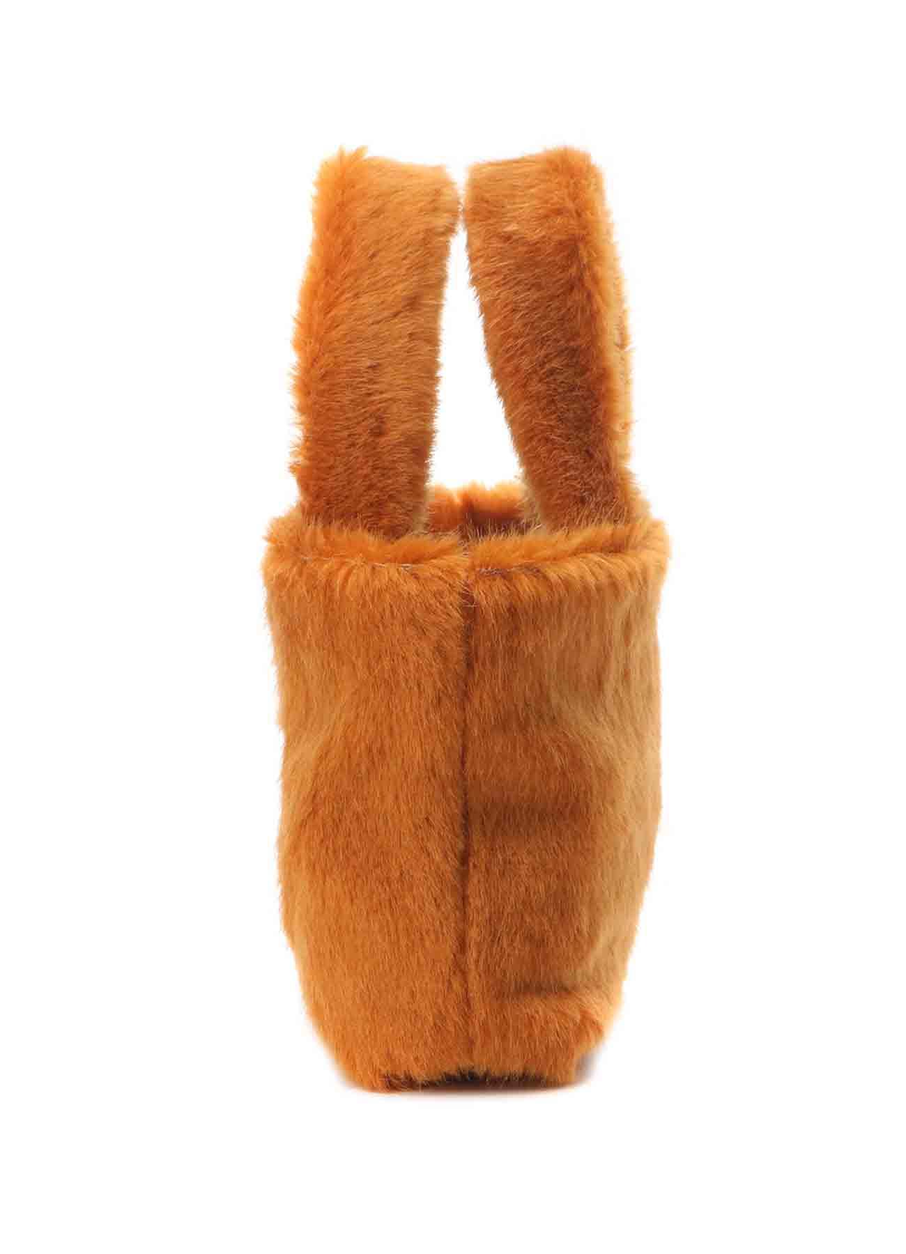 Fake Fur Silicon Keyboard Bag