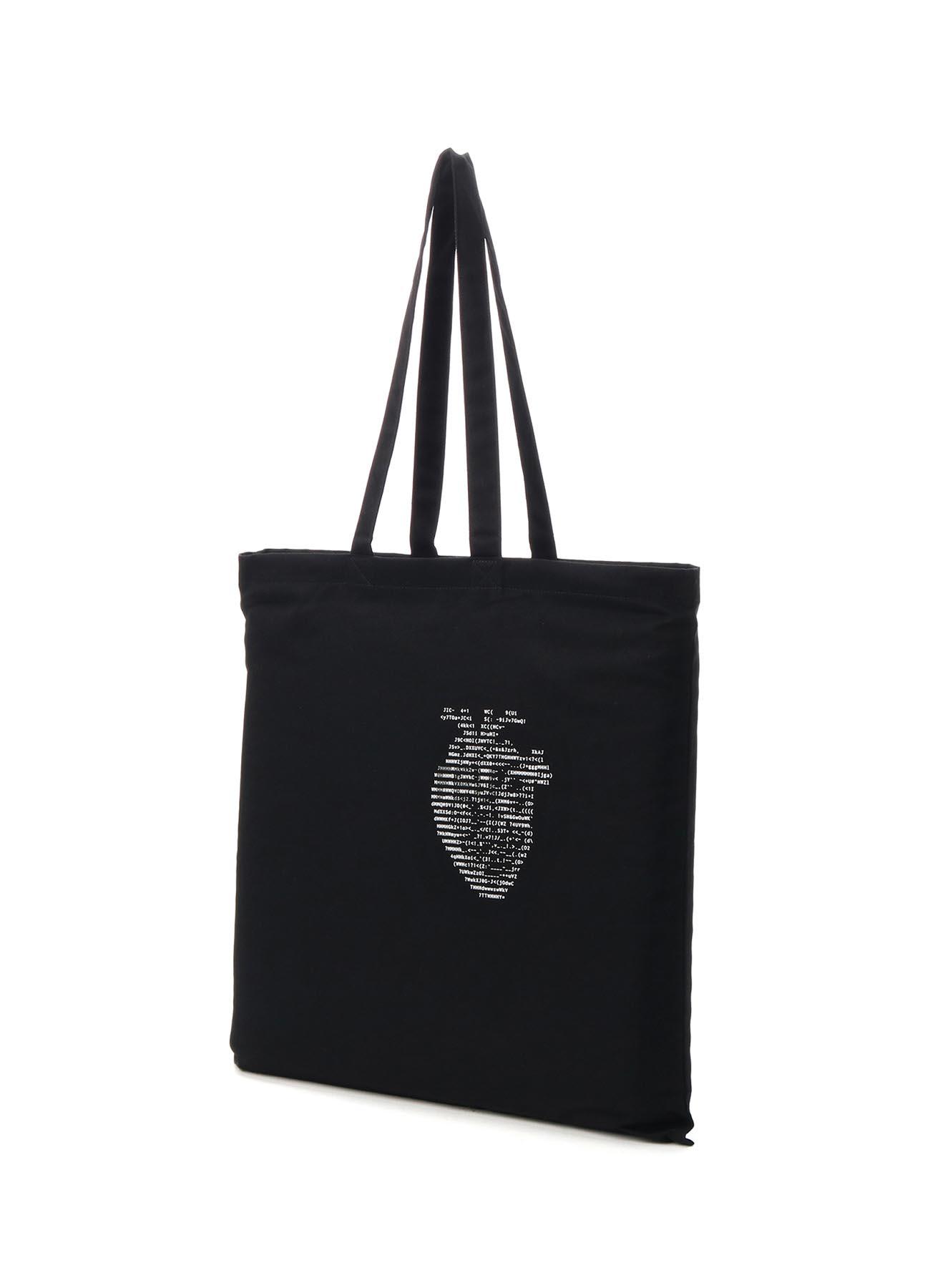 C/Ascii Heart Print Tote Bag
