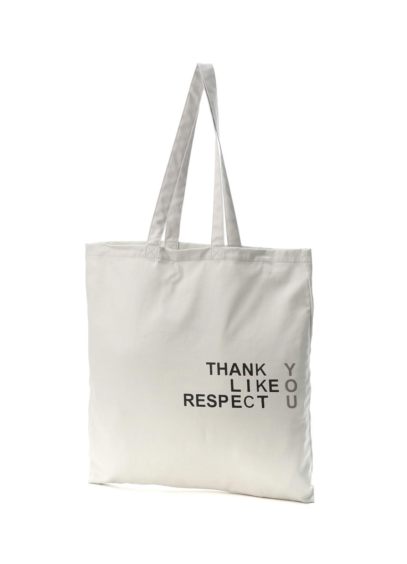 FU*K YOU Print Cotton Tote Bag