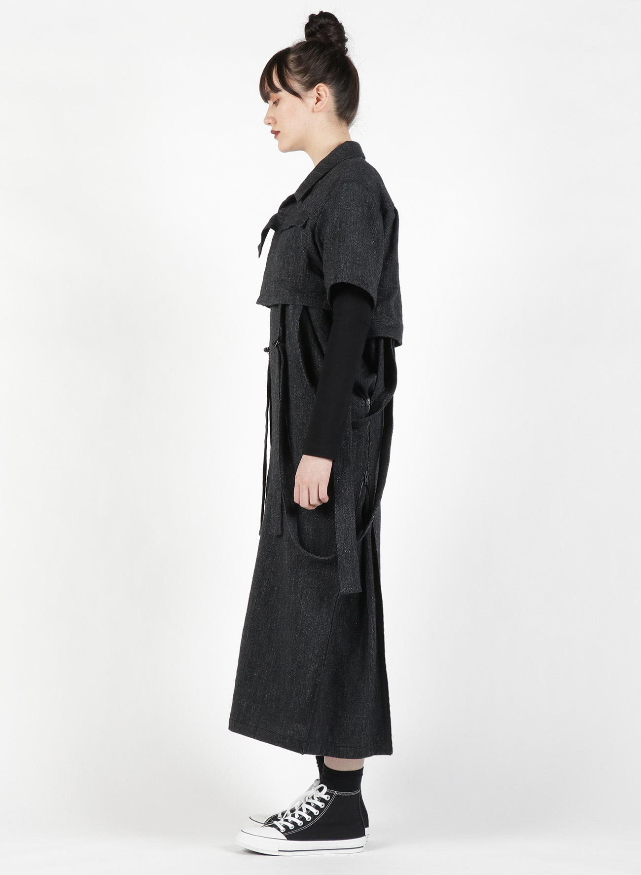 Li/W Herringbone Short Tape Jacket