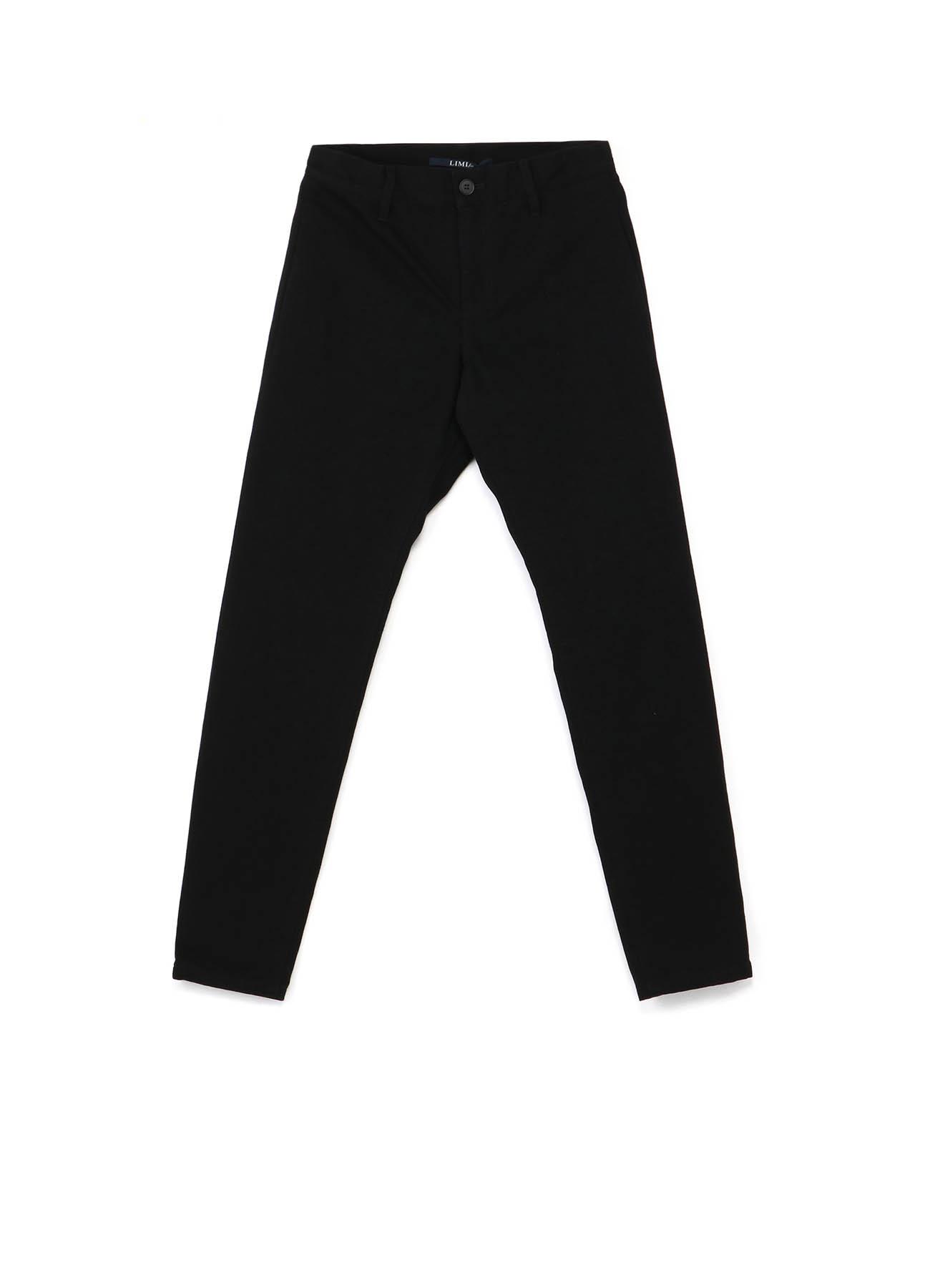 Black Denim Slim Pants