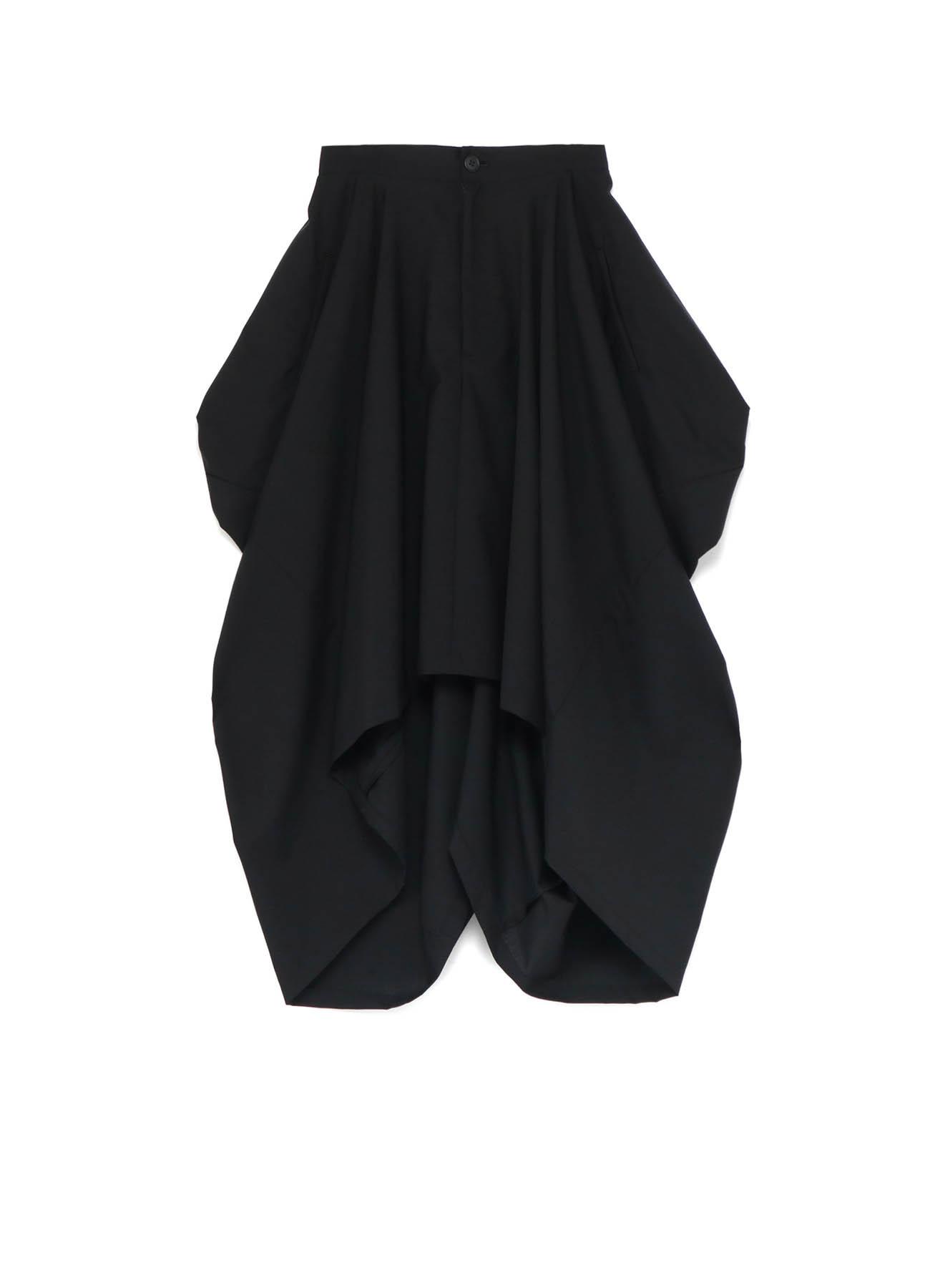 W/Moh Tropical Square Back Long Skirt