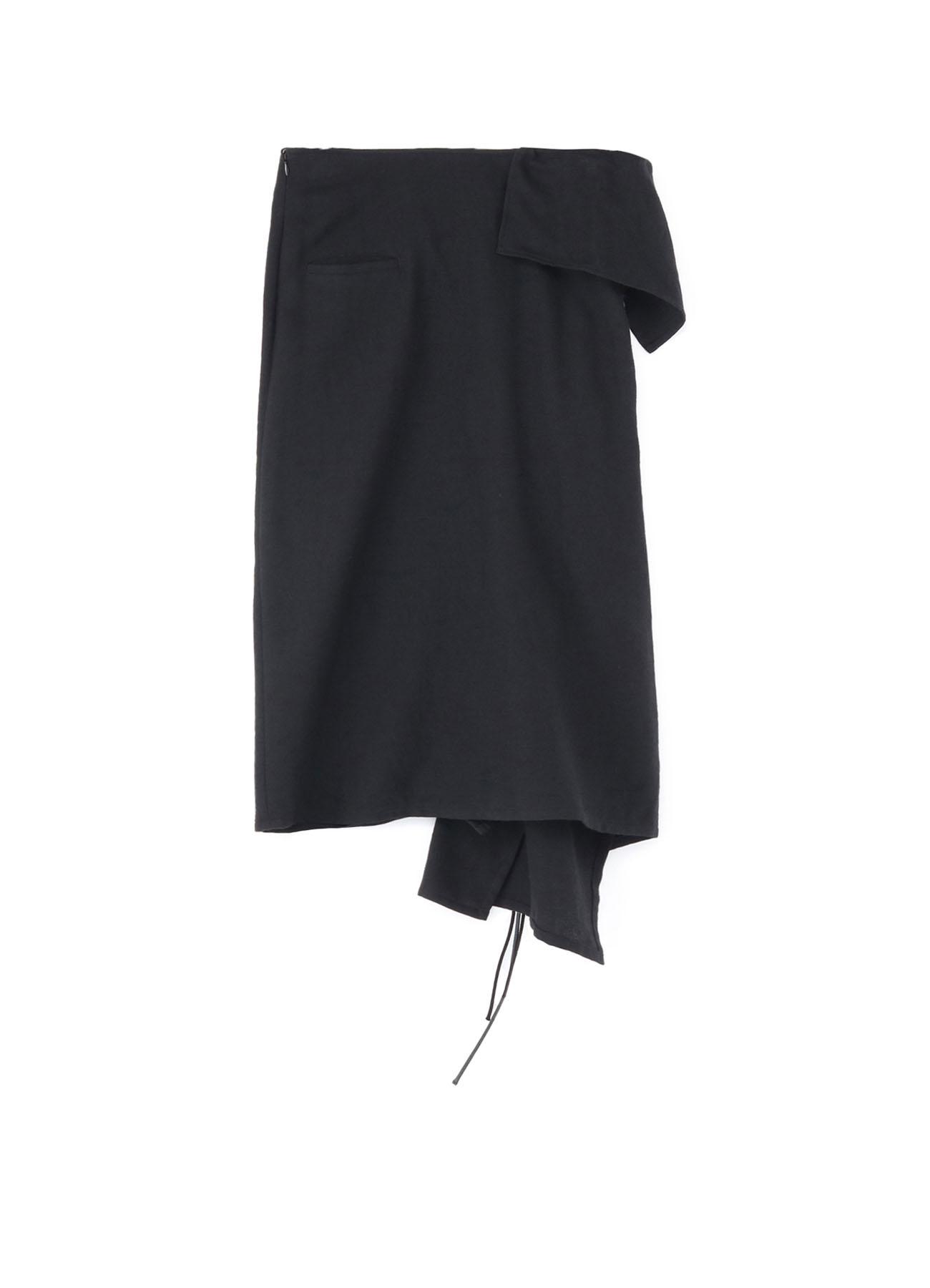 Light Serge KnItted Skirt