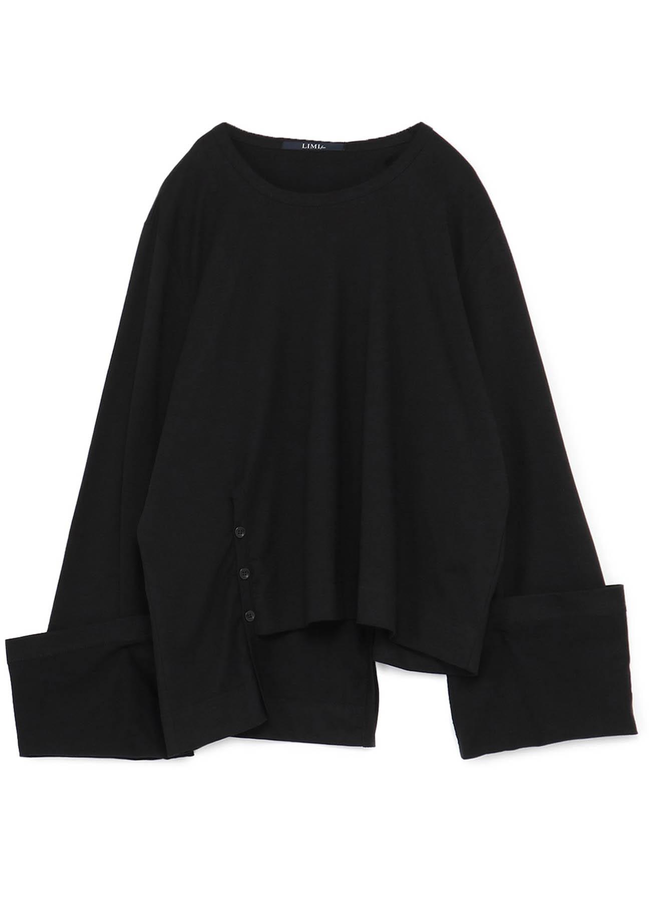 40/2 Cotton Plain stitch Slit Binder T-shirt